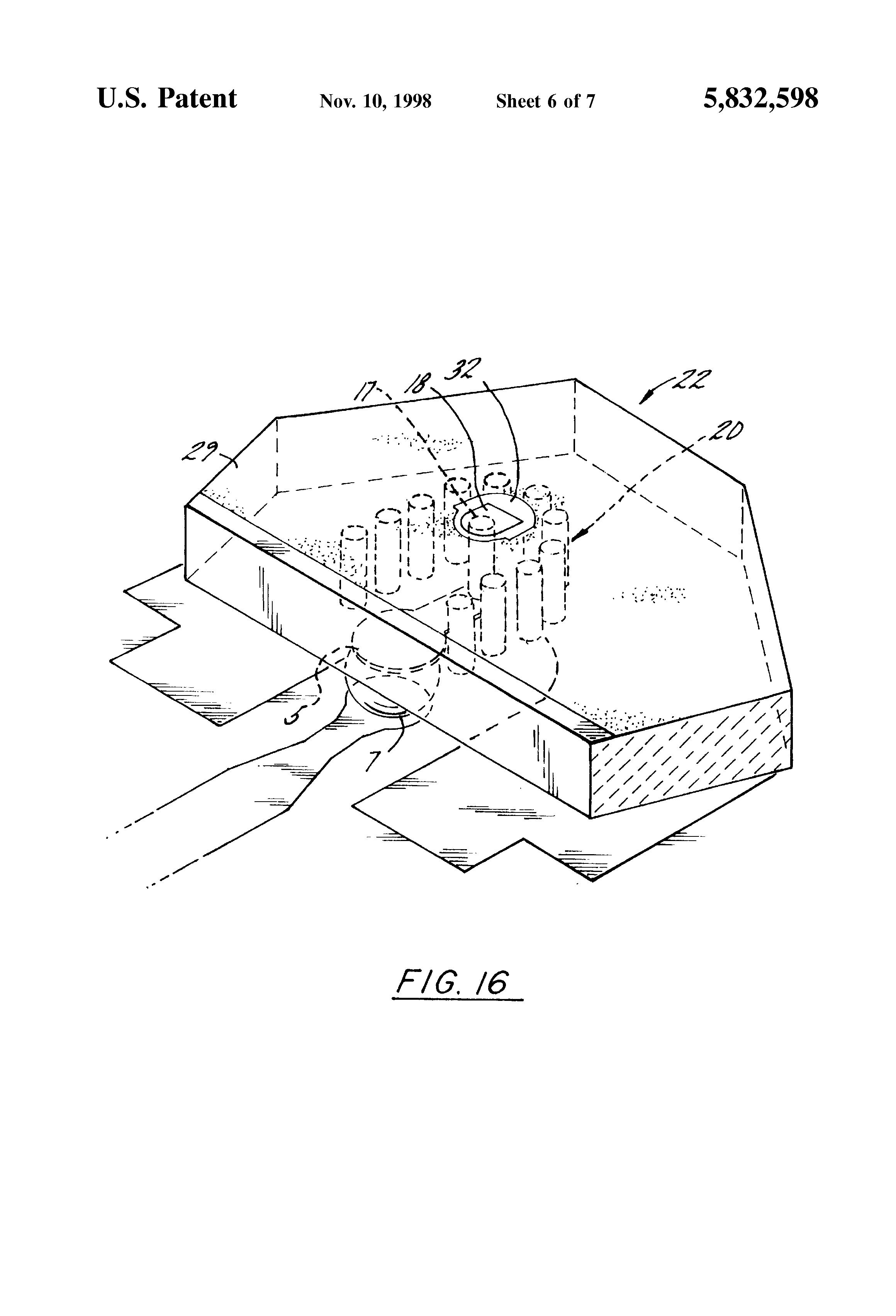 patent us5832598
