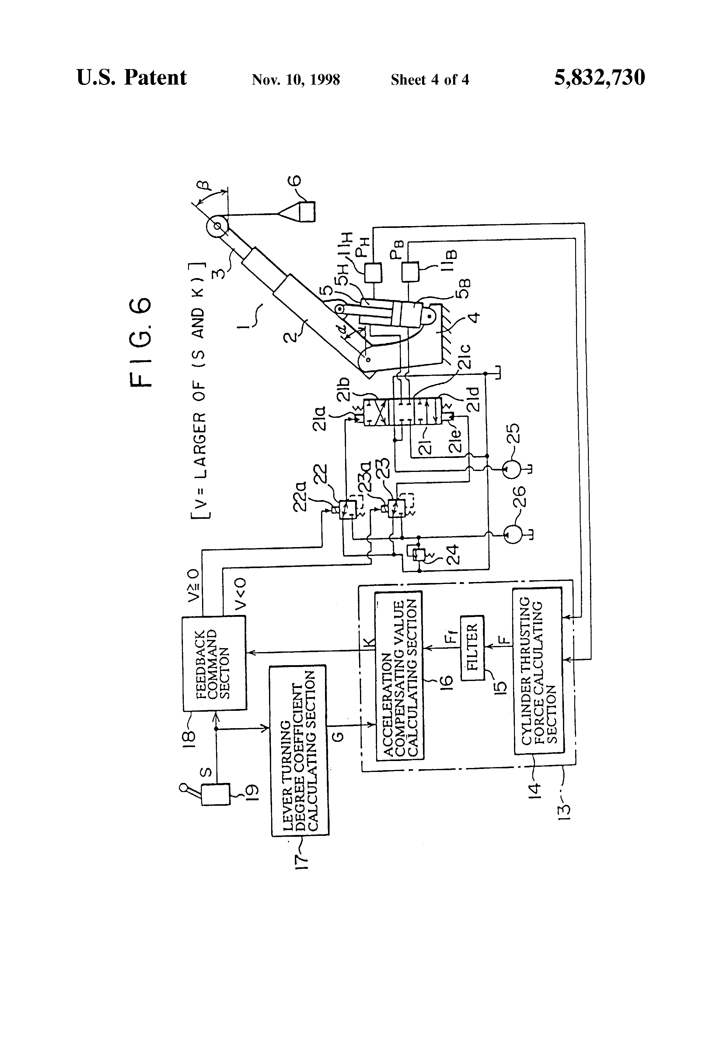 Patente Us5832730 Device And Method For Suppressing Vibration Of A. Patent Drawing. Toyota. 832 Toyota Forklift Wiring Diagrams At Scoala.co