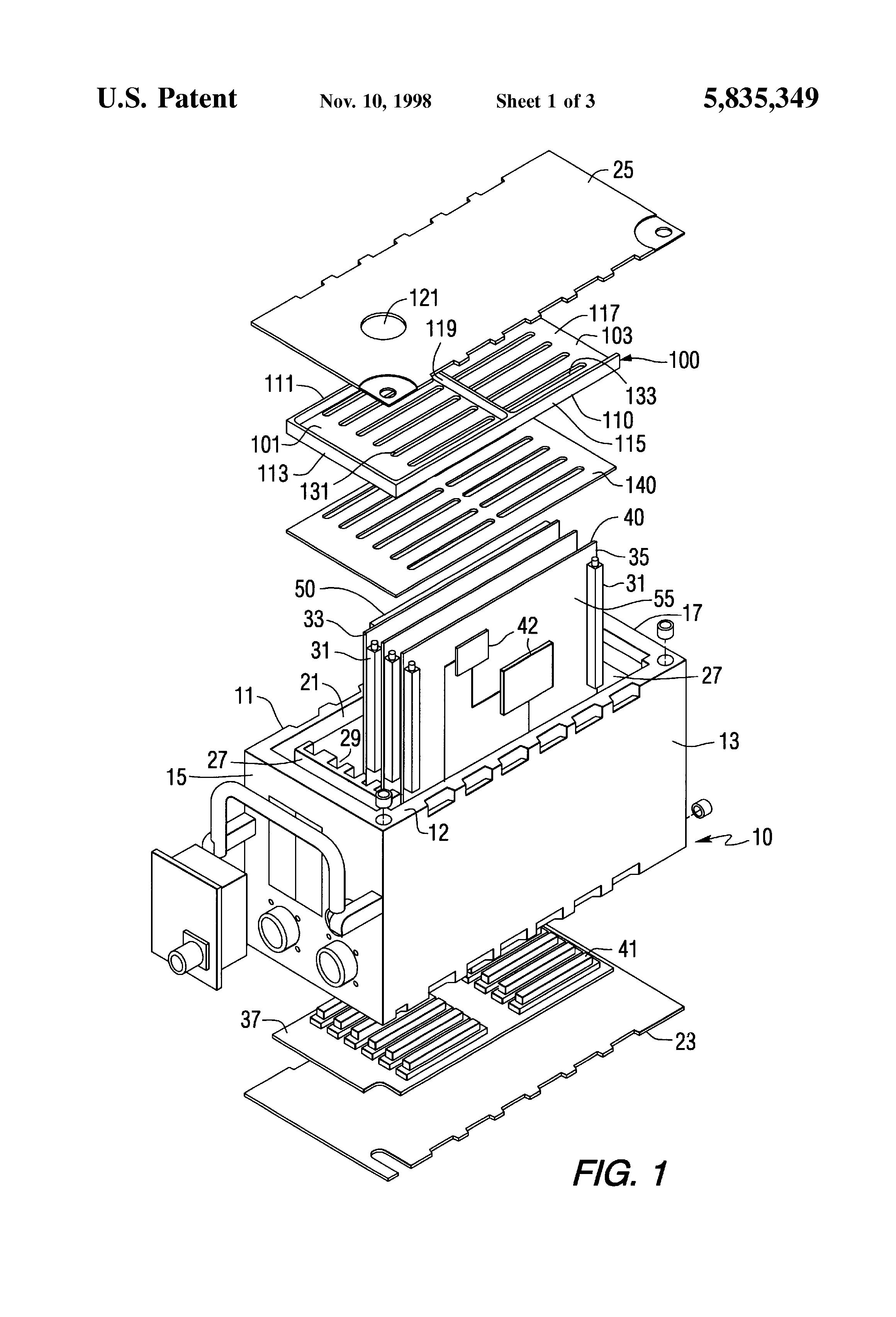 patent us5835349