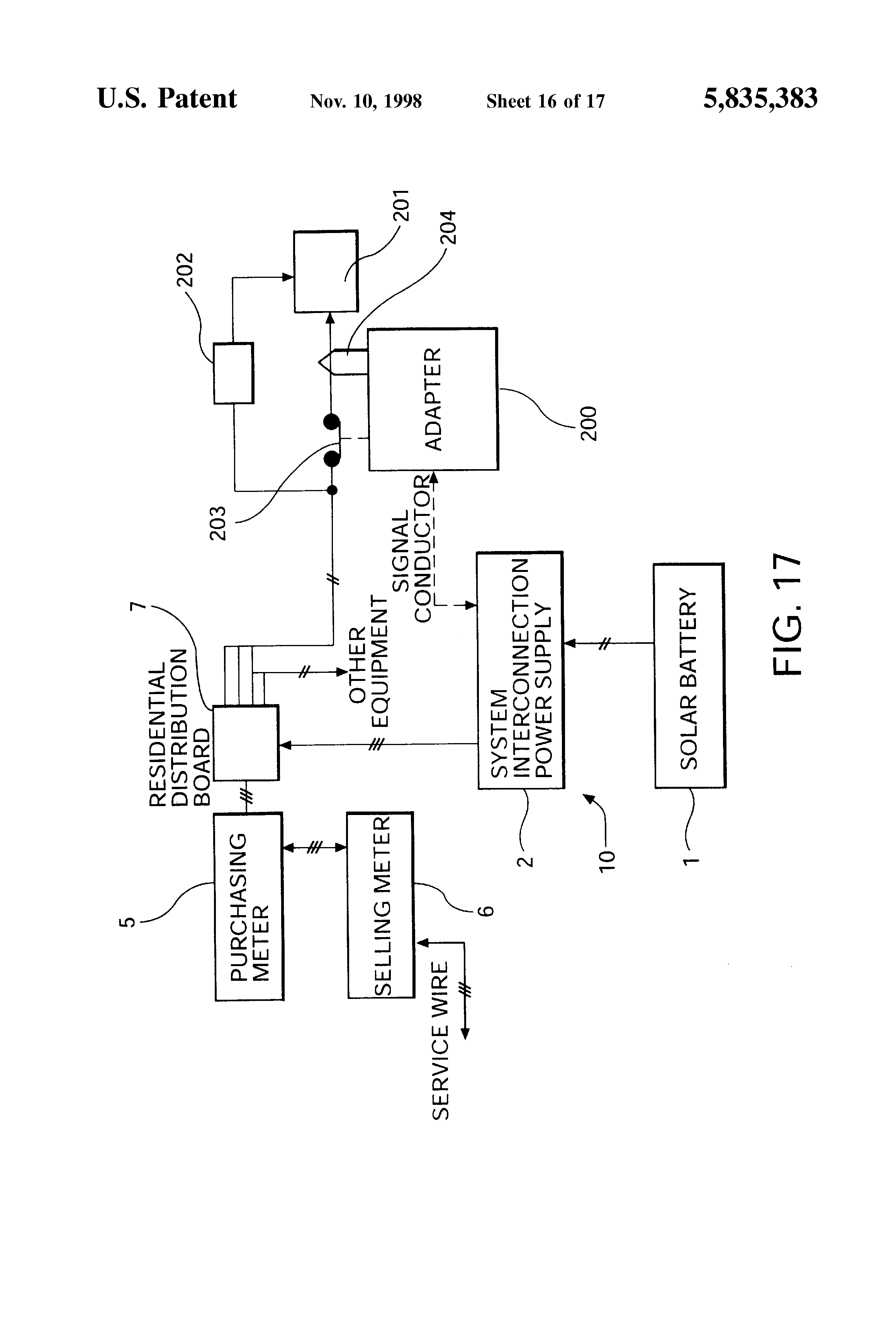 Patent Us5835383 System Interconnected Generator For Converting Remote Control Relay To Dc Motor Forward And Reverse Namely Drawing