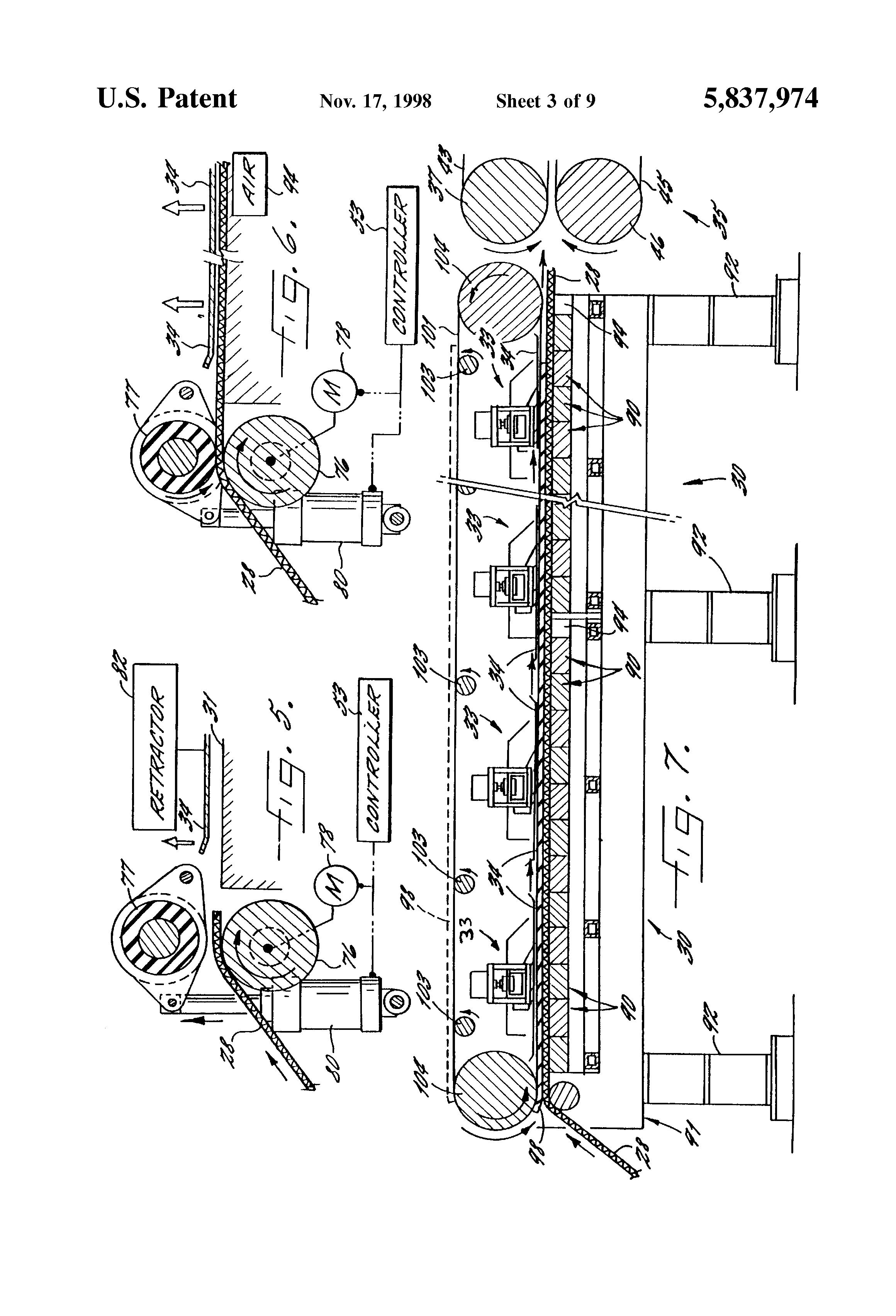 patent us5837974