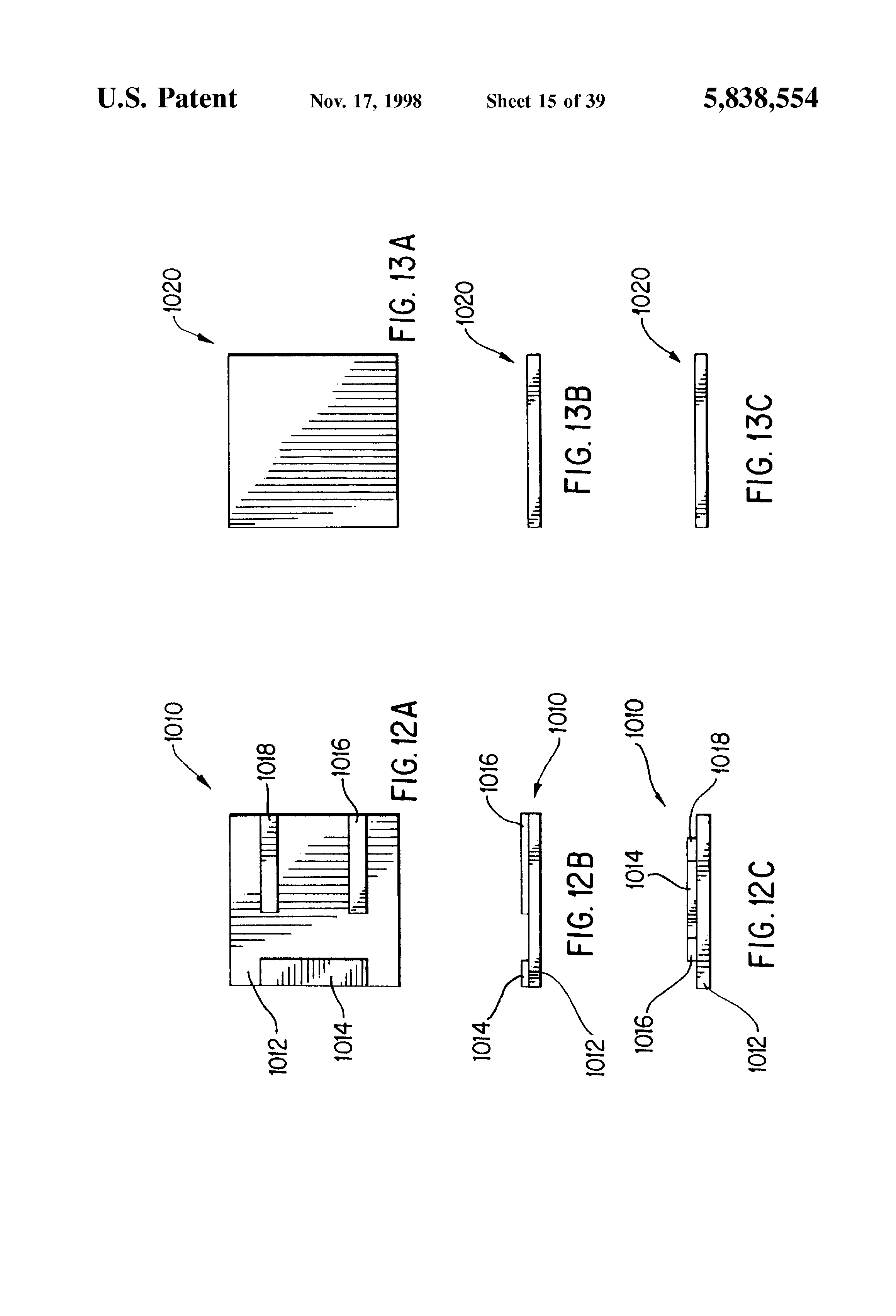 patent us5838554 - small form factor power supply