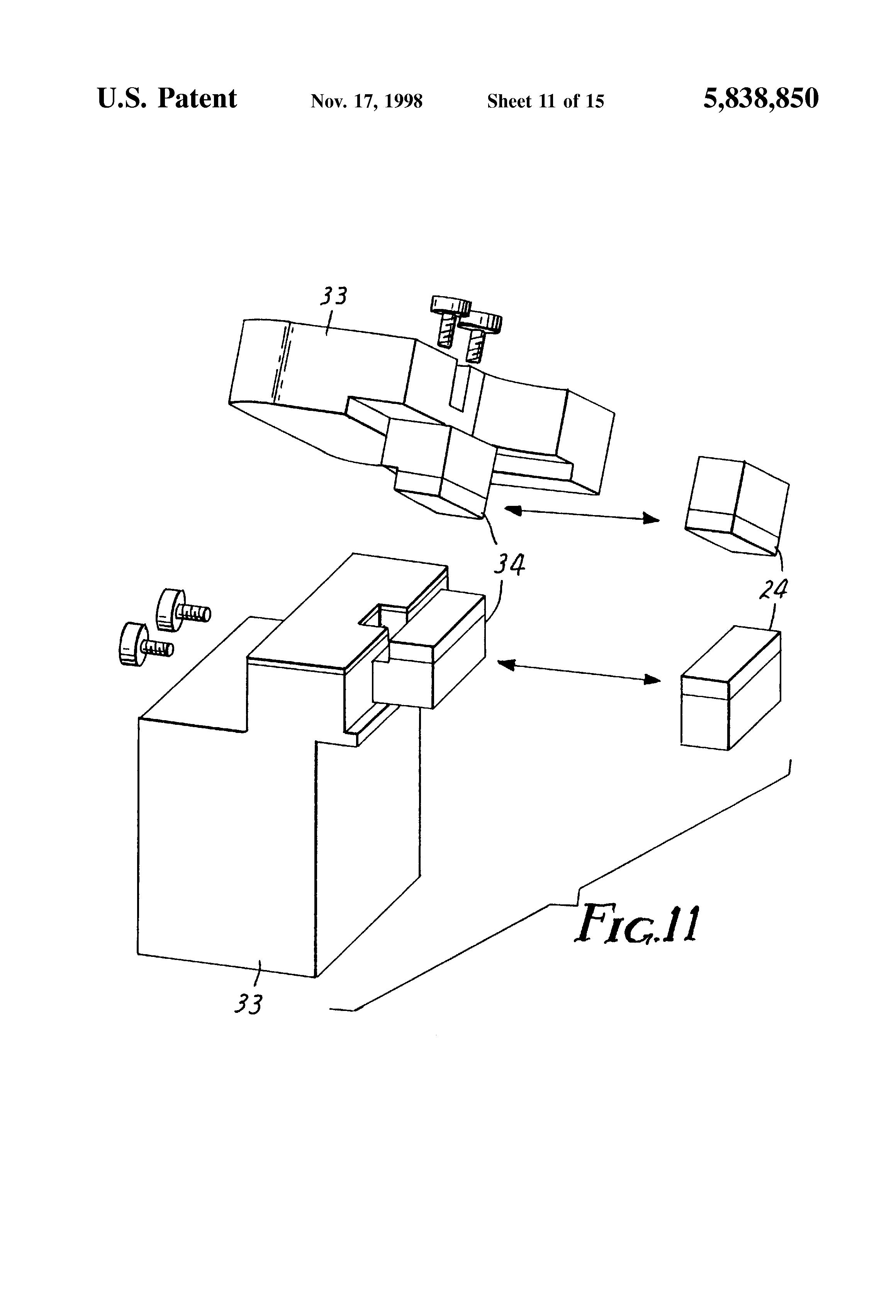patent us5838850