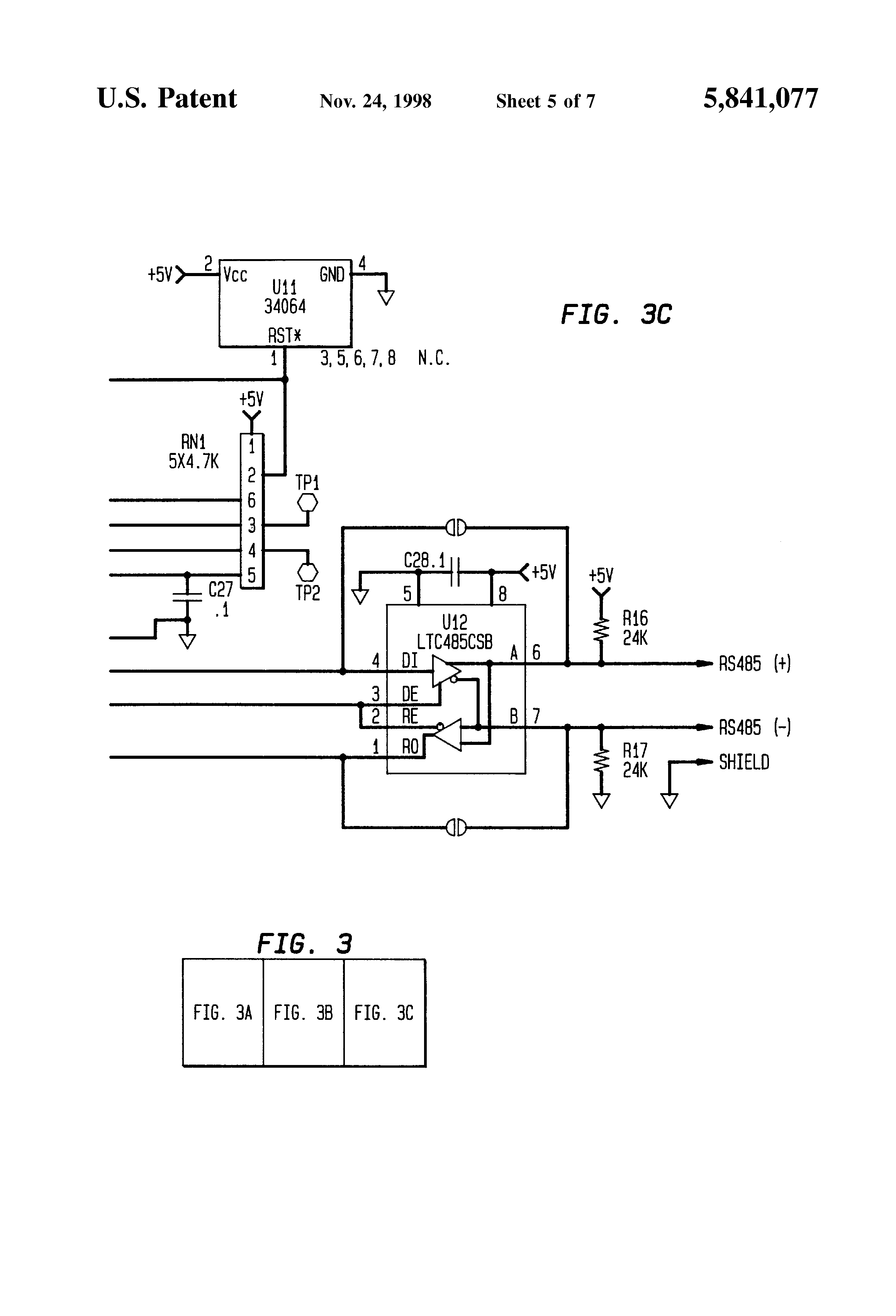 Patent Us5841077 Digital Load Cell Assembly Google Patents
