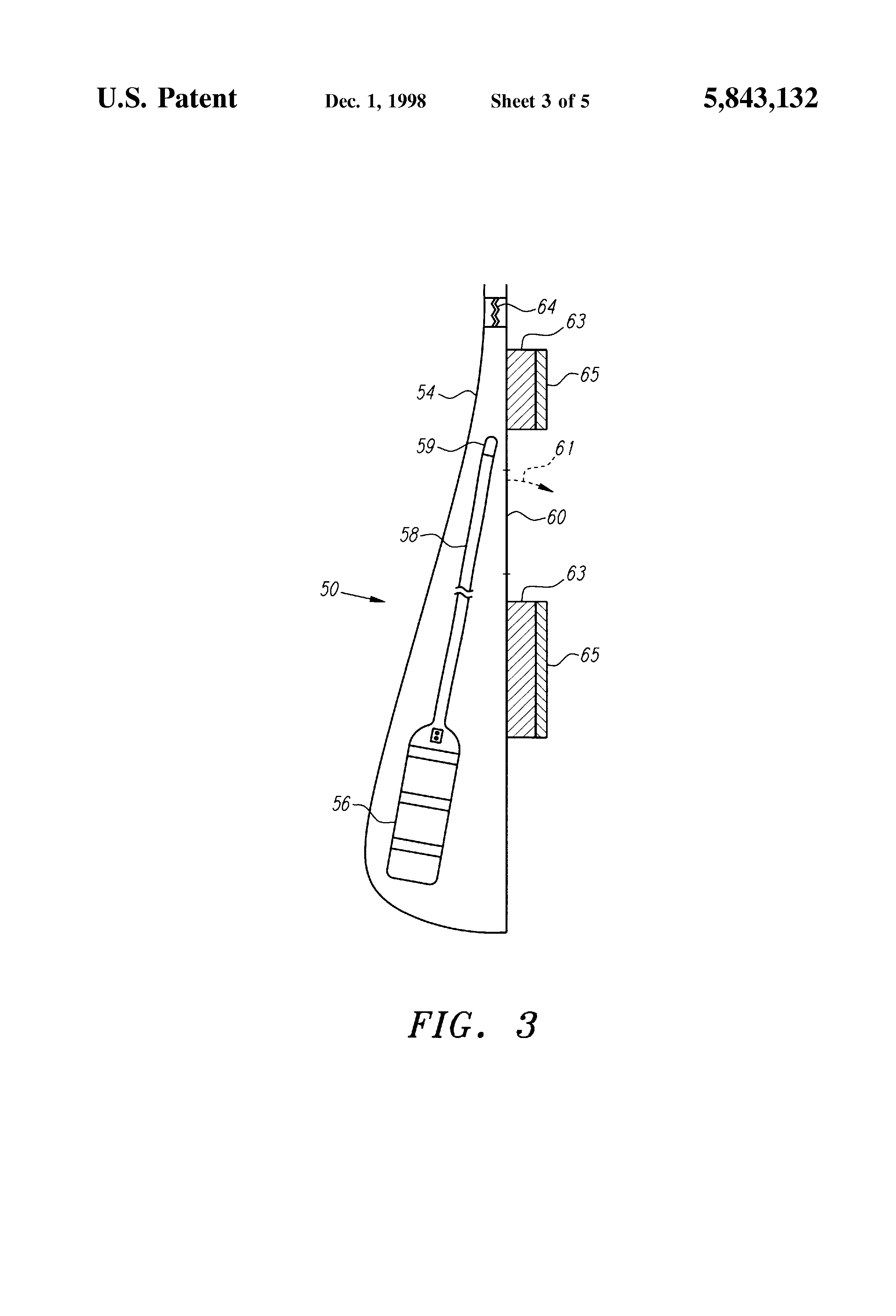 patent us5843132