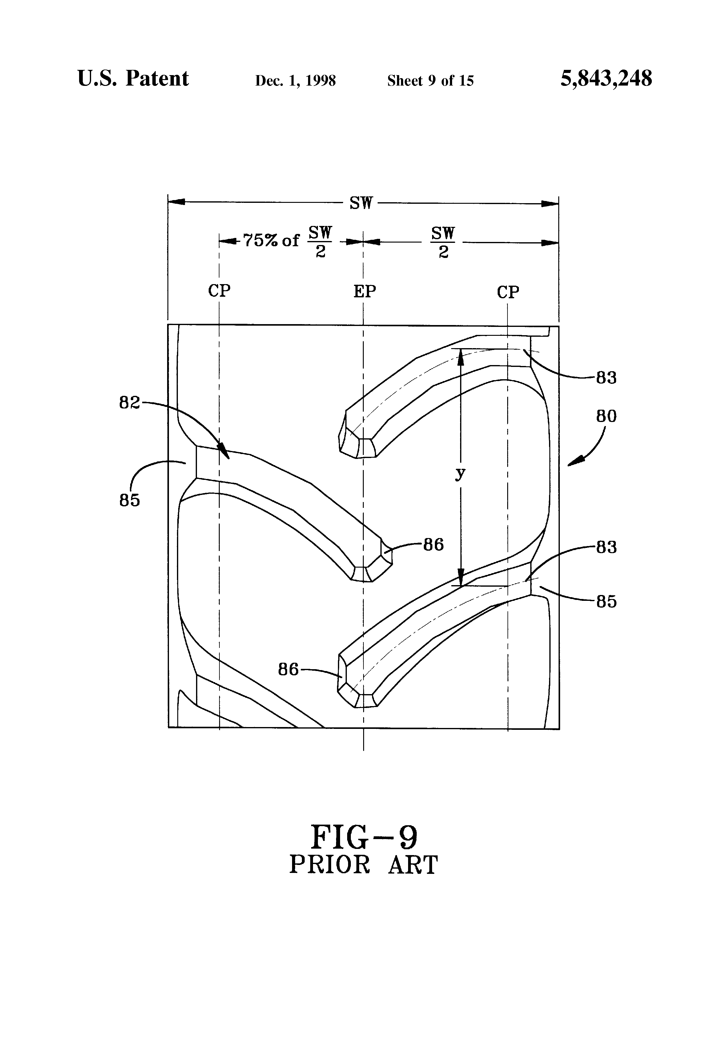 patent us5843248 radial agricultural tire with a pitched tread rh google be