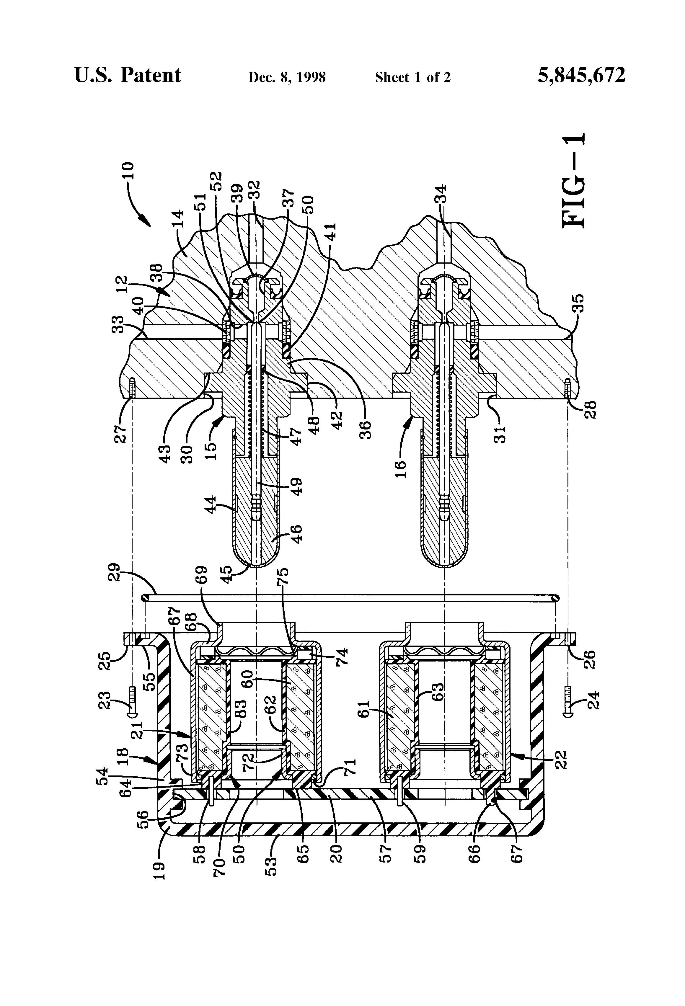 patent us5845672