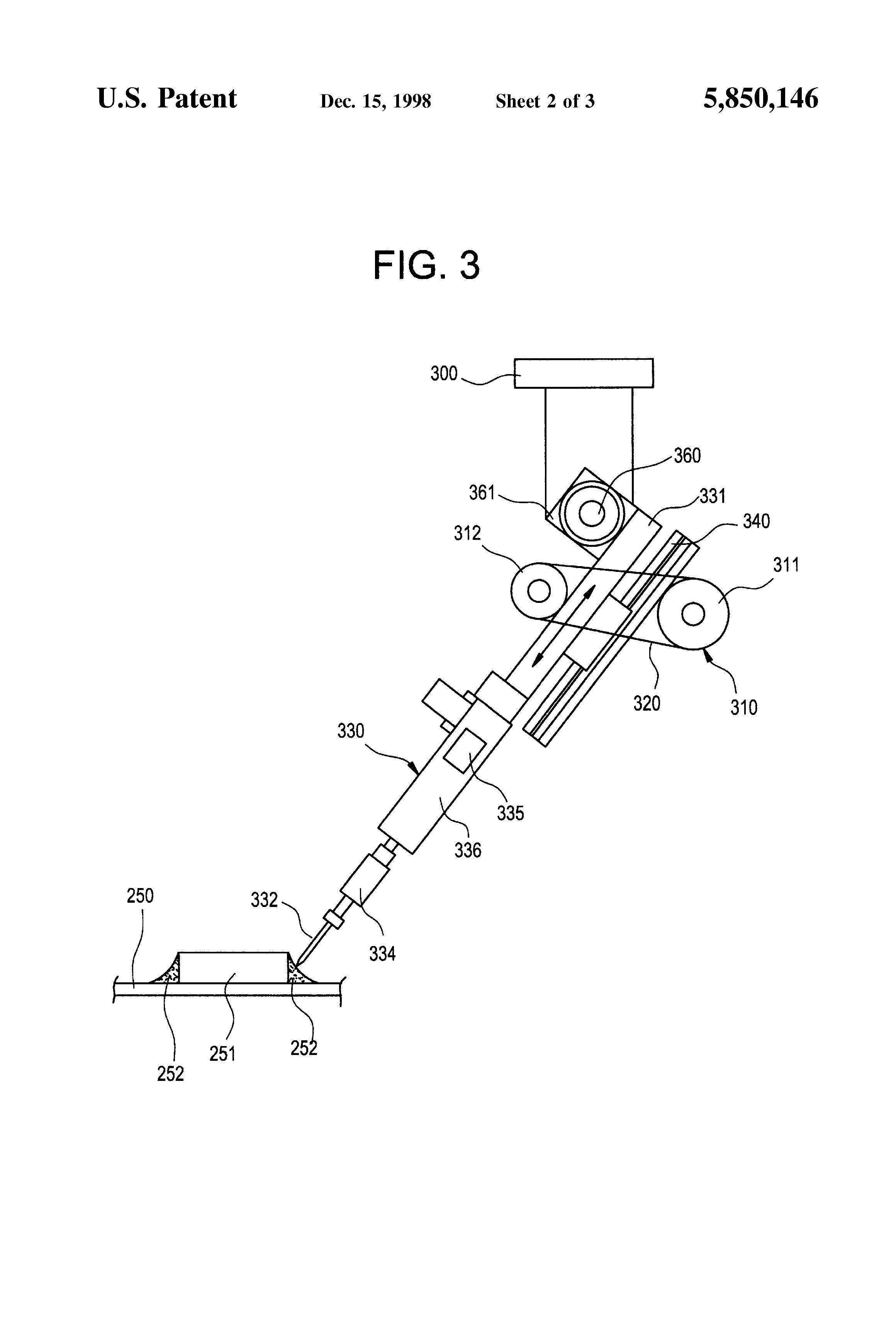 patent us5850146