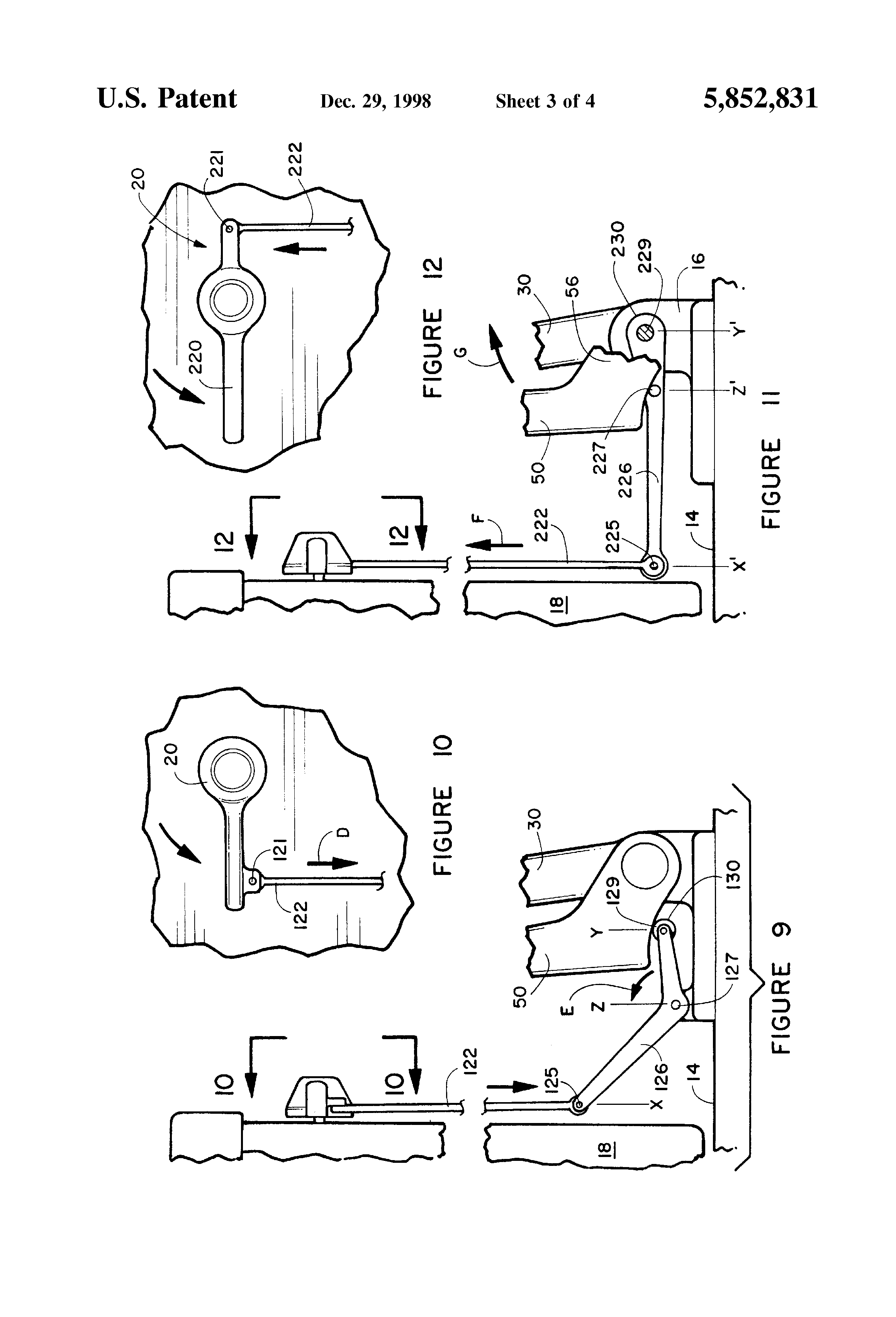 self closing toilet seat lid. Patent Drawing US5852831  Self closing toilet seat and lid Google Patents
