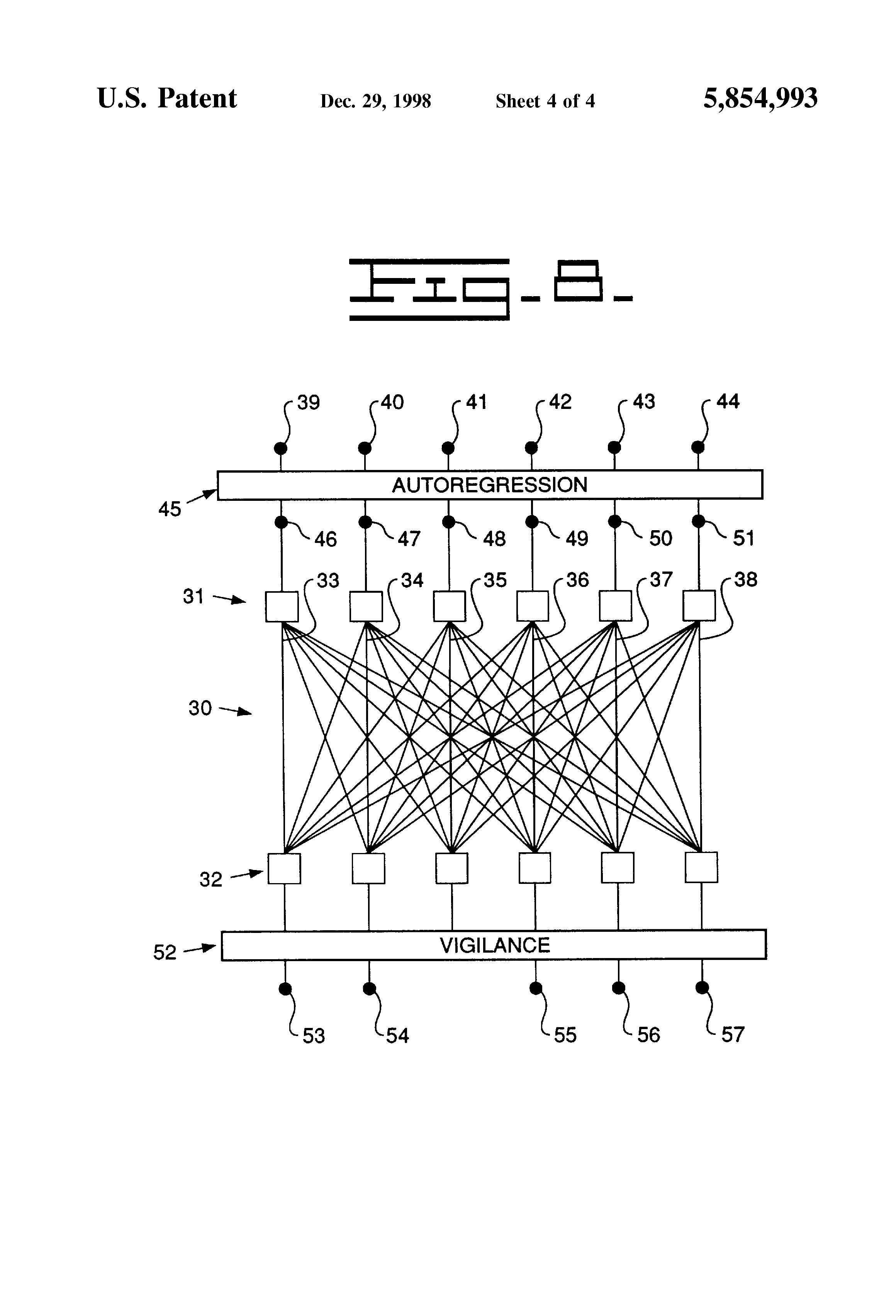 patent us5854993