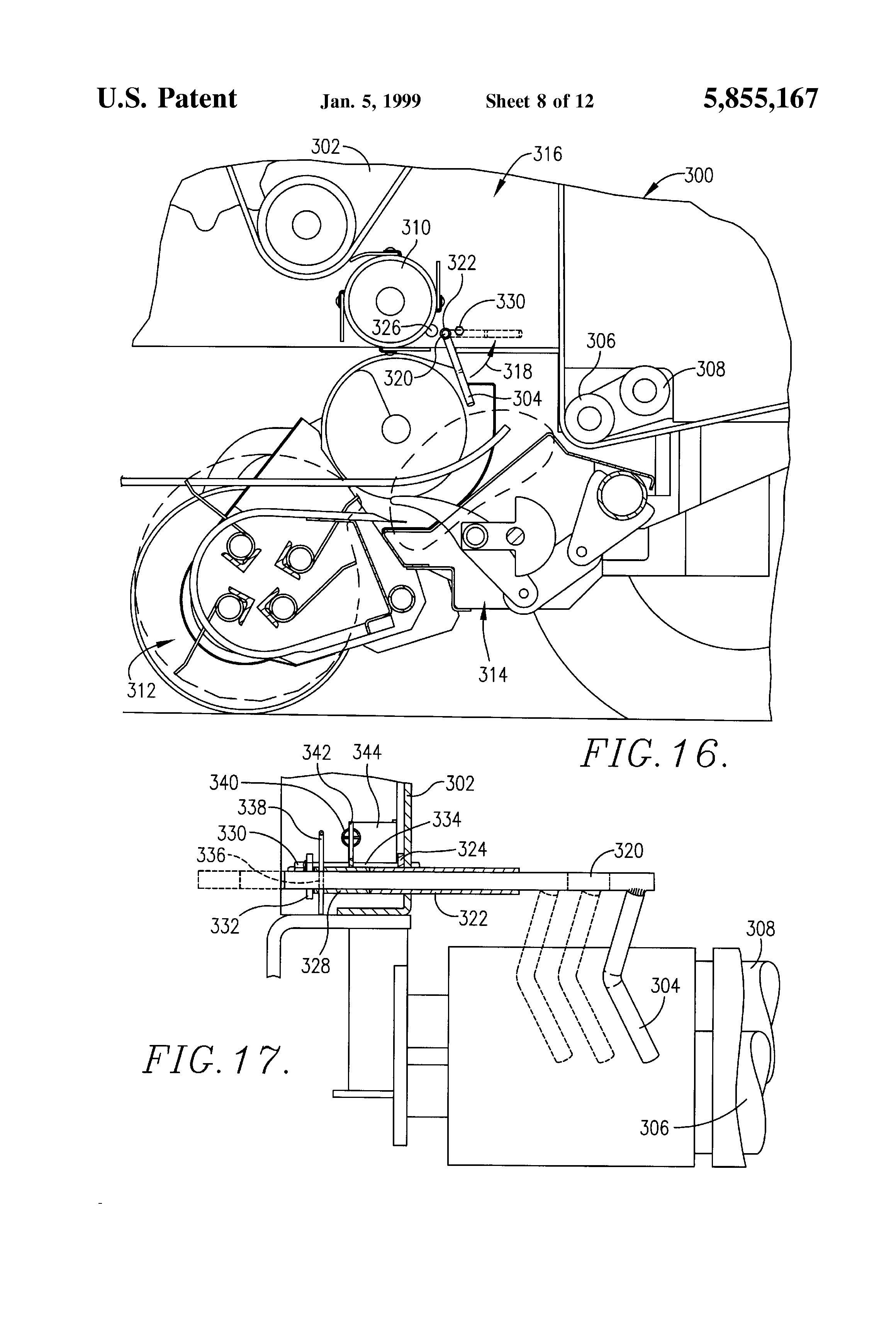 US5855167 8 patent us5855167 end of round bale twine guide google patents John Deere 535 Hay Baler at fashall.co