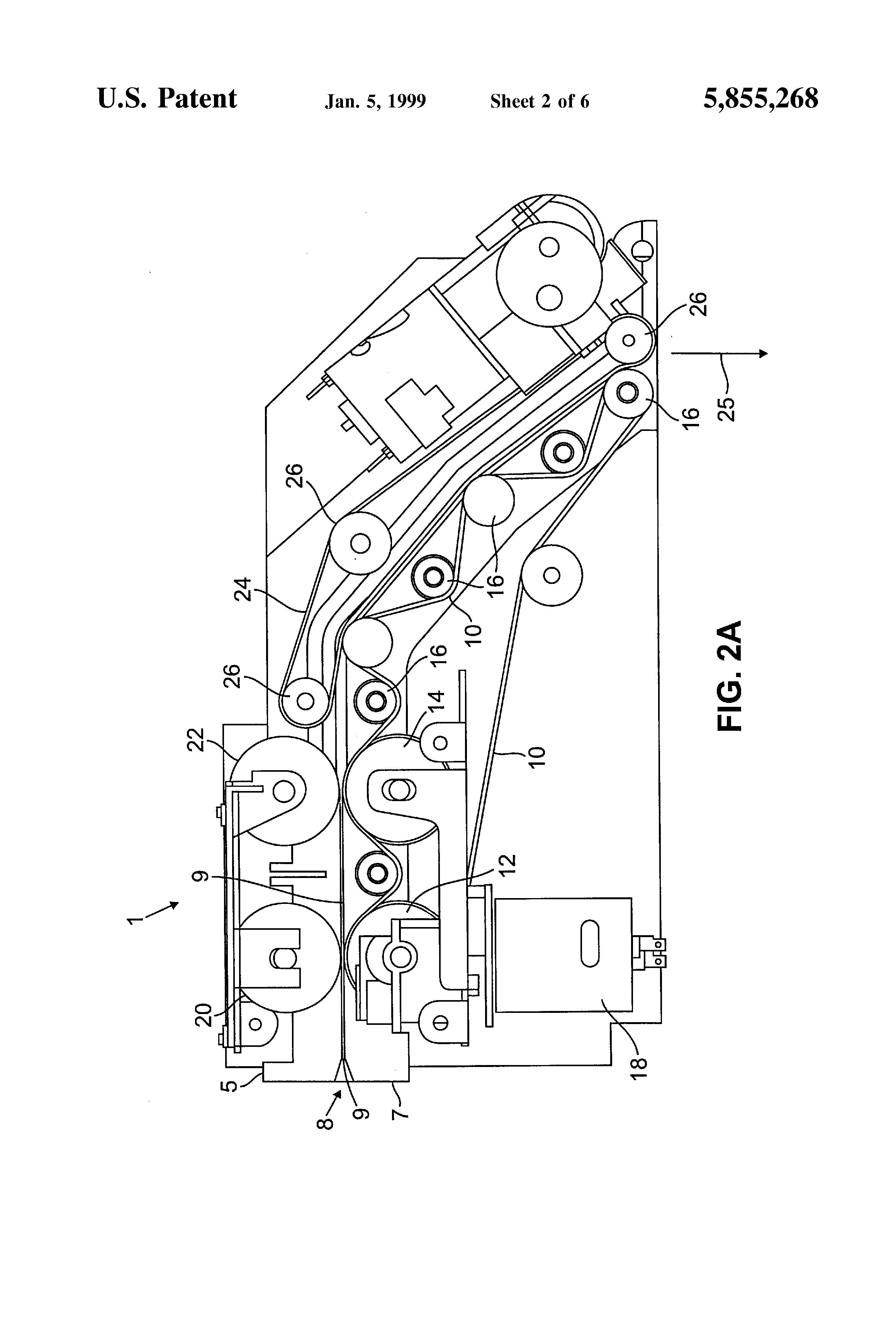 patent us5855268