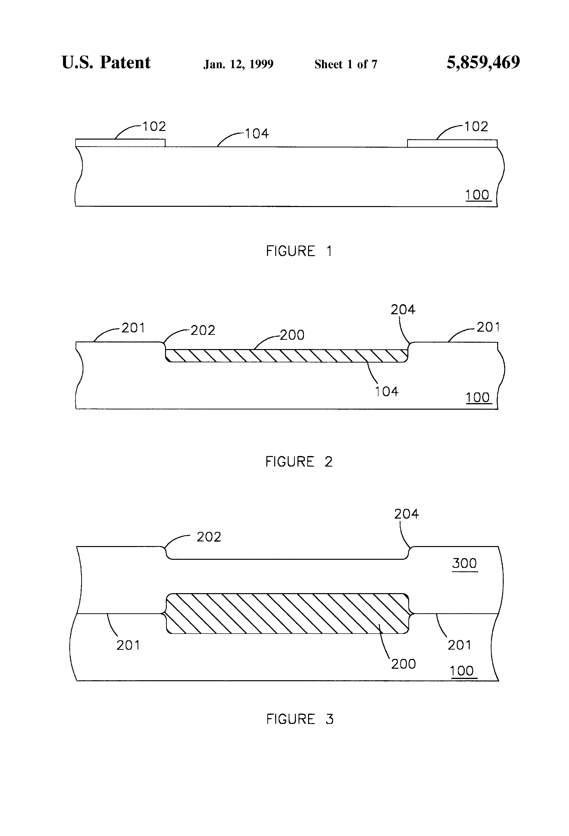 Patent Us5859469 Use Of Tungsten Filled Slots As Ground Plane In Wiring Diagram Well Npn And Pnp Transistor On Prox Drawing