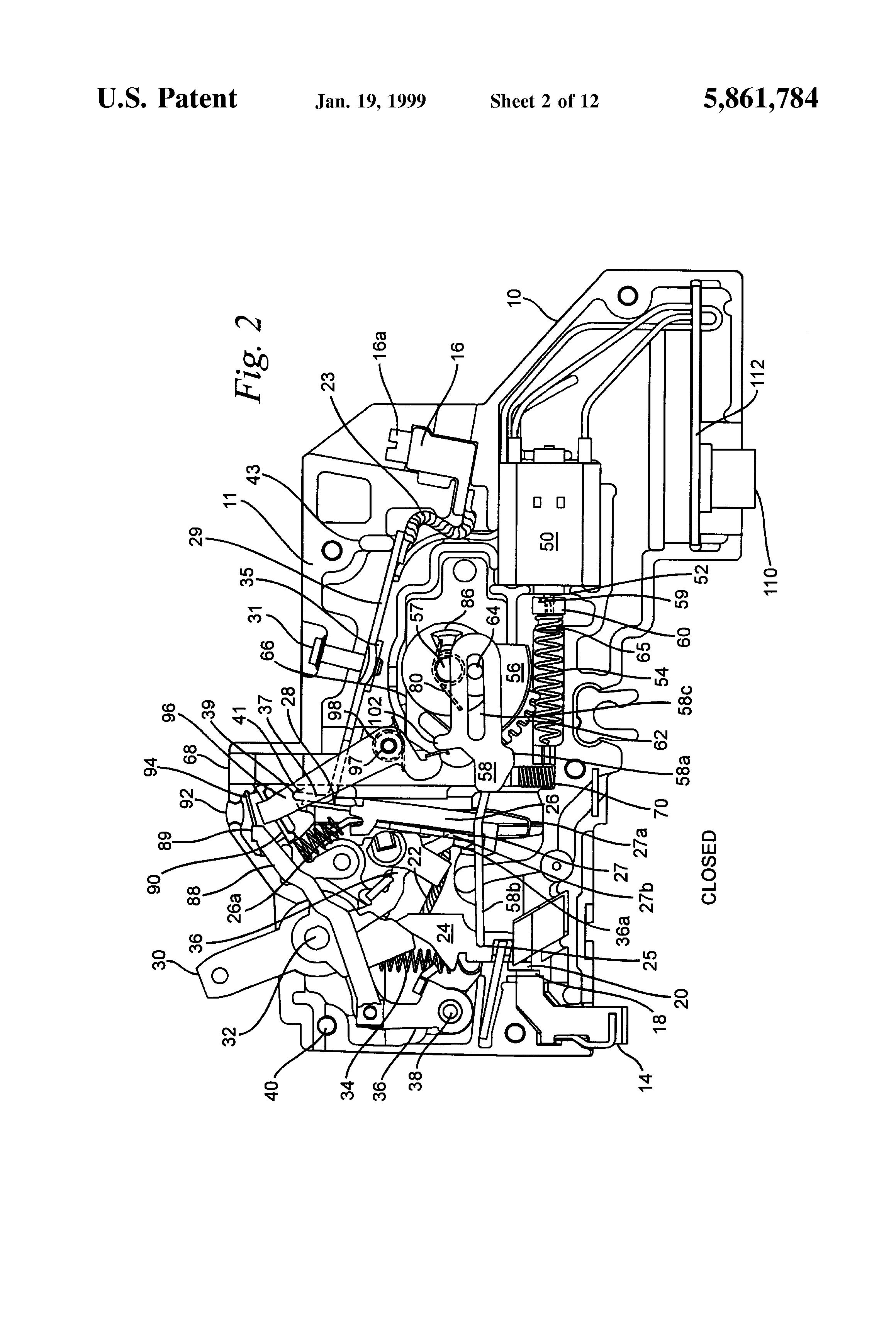 patent us5861784