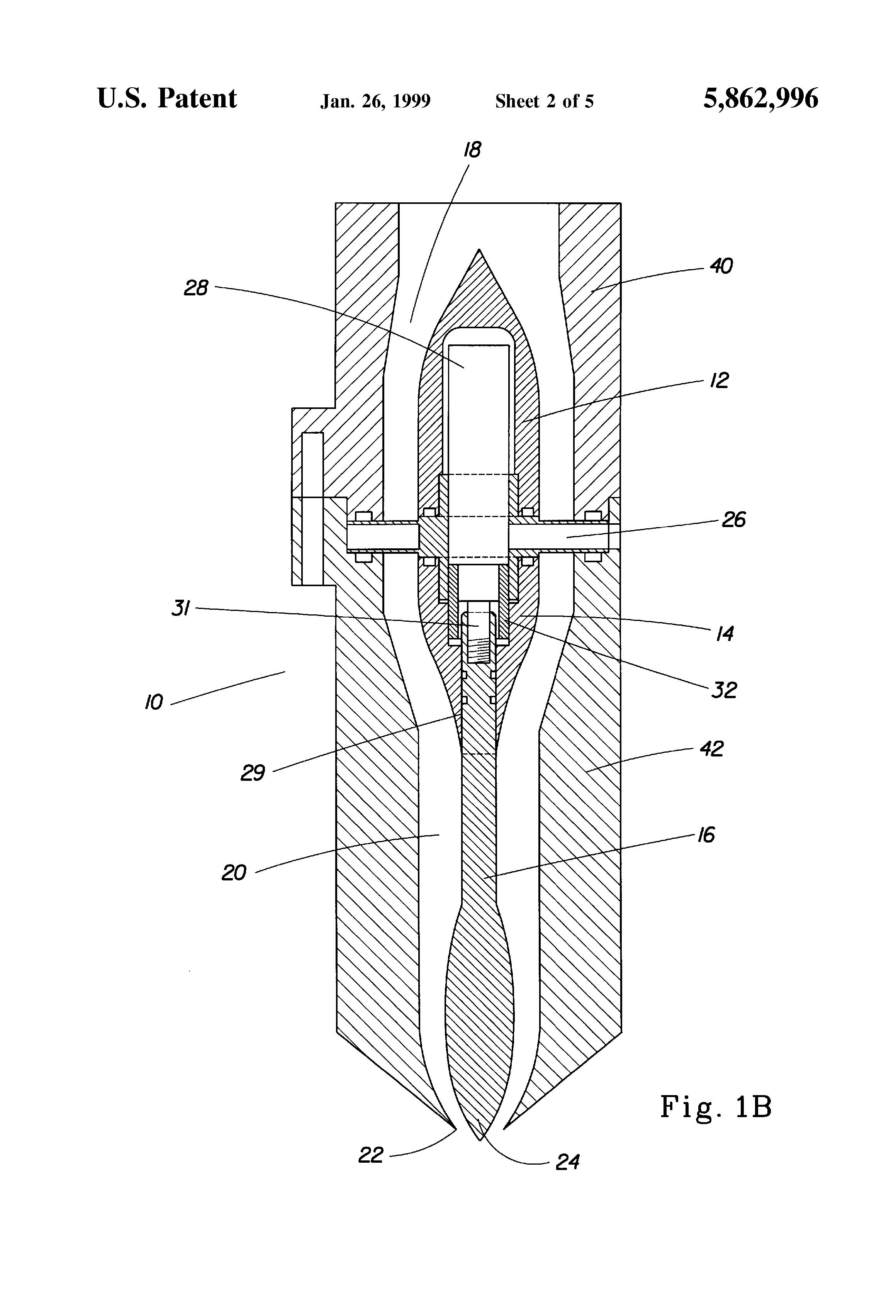 Patent us laminar flow nozzle google patents