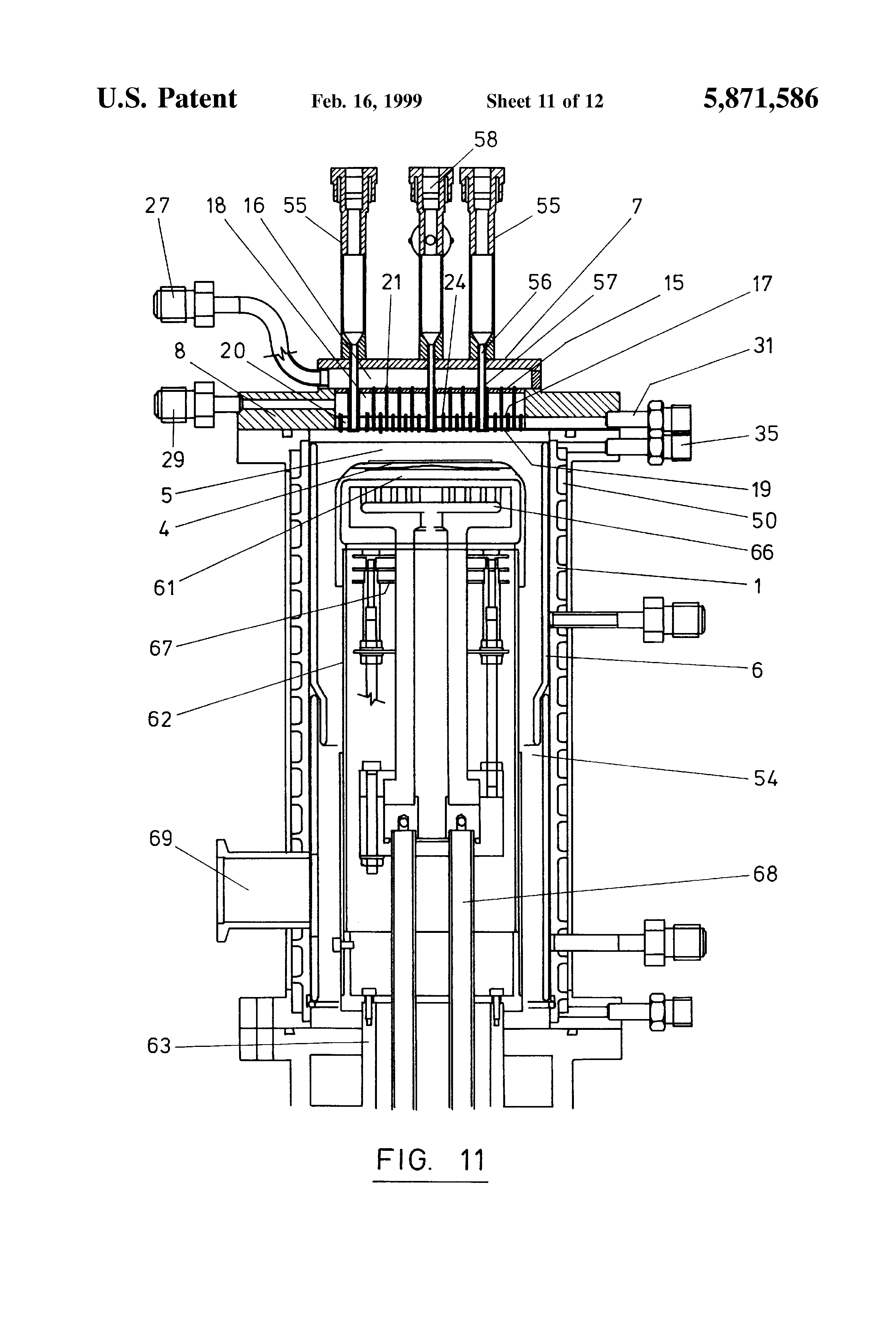 patent us5871586 - chemical vapor deposition