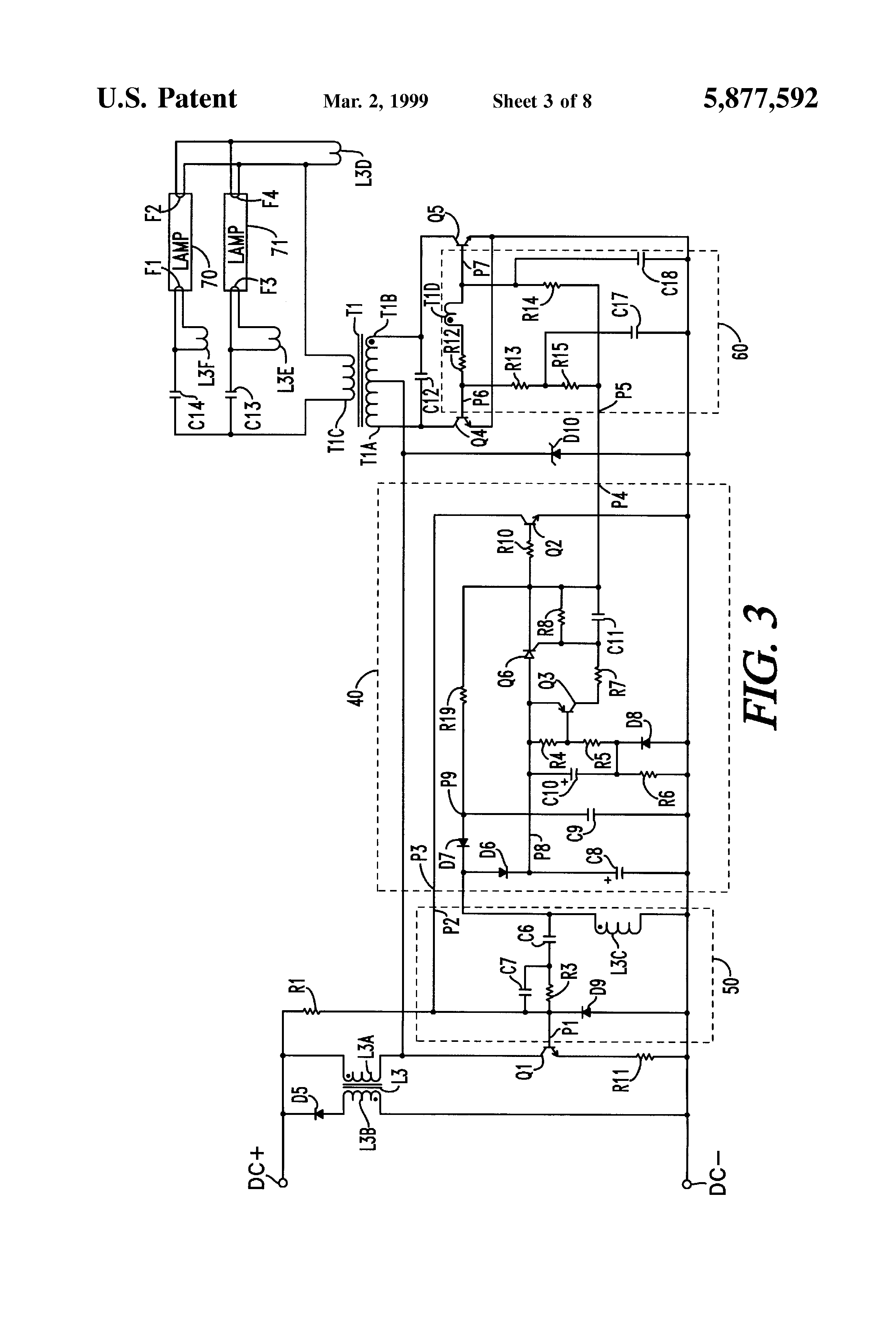 US5877592 3 patent us5877592 programmed start parallel resonant electronic programmed start ballast wiring diagram at fashall.co
