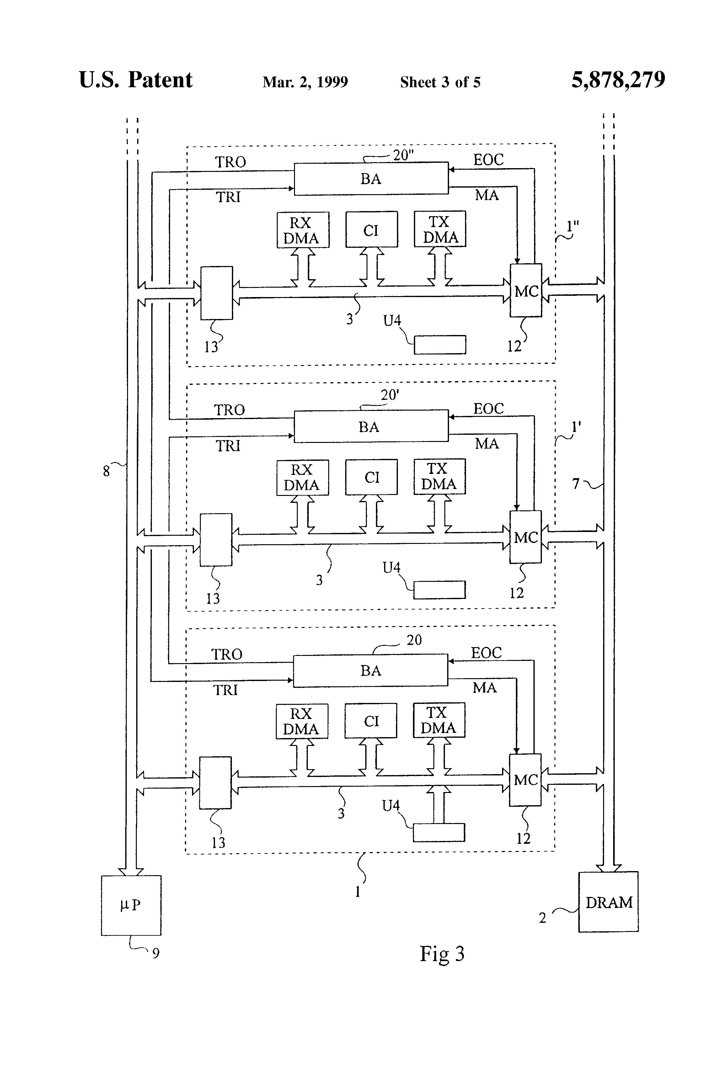 patent us5878279