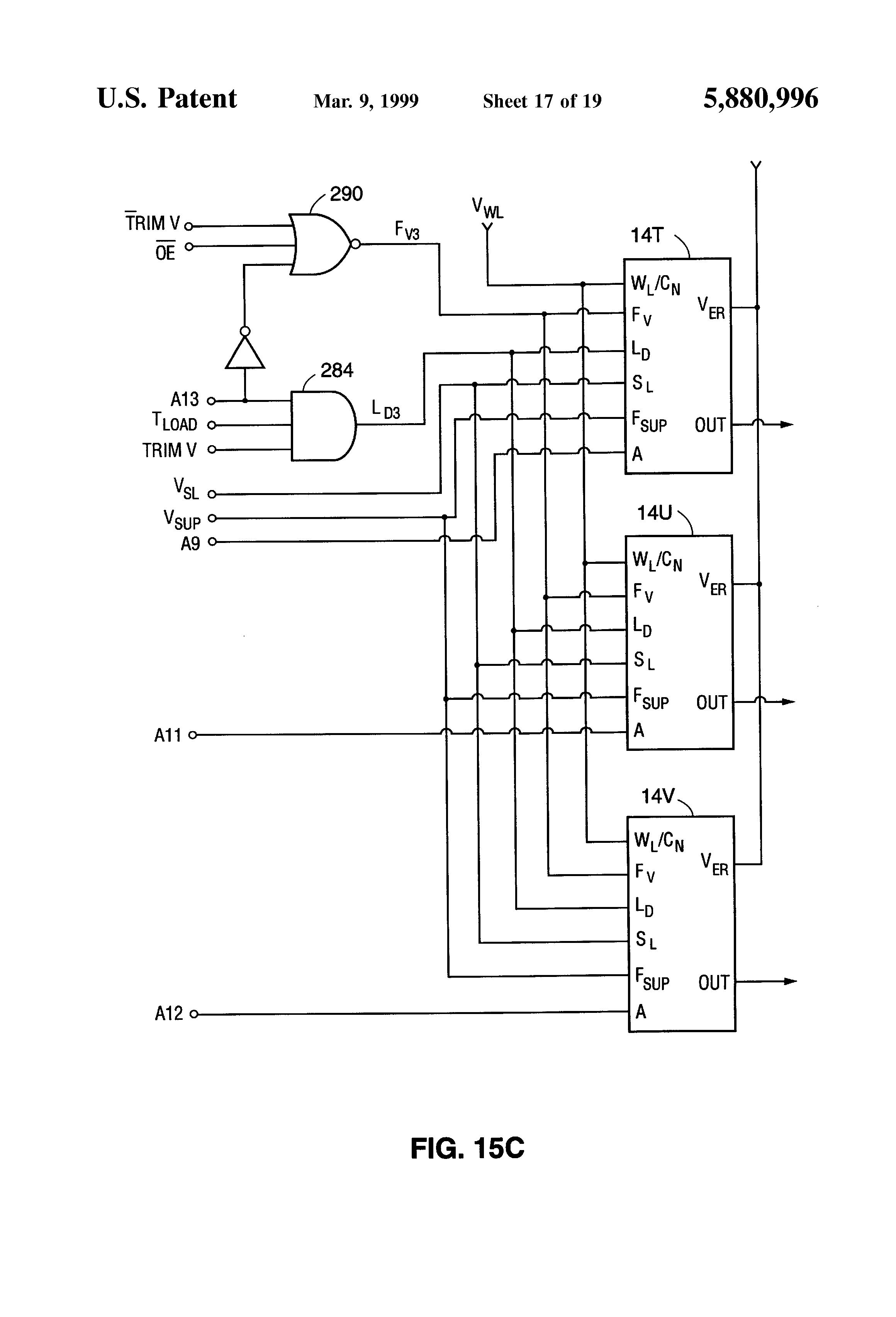 patent us5880996