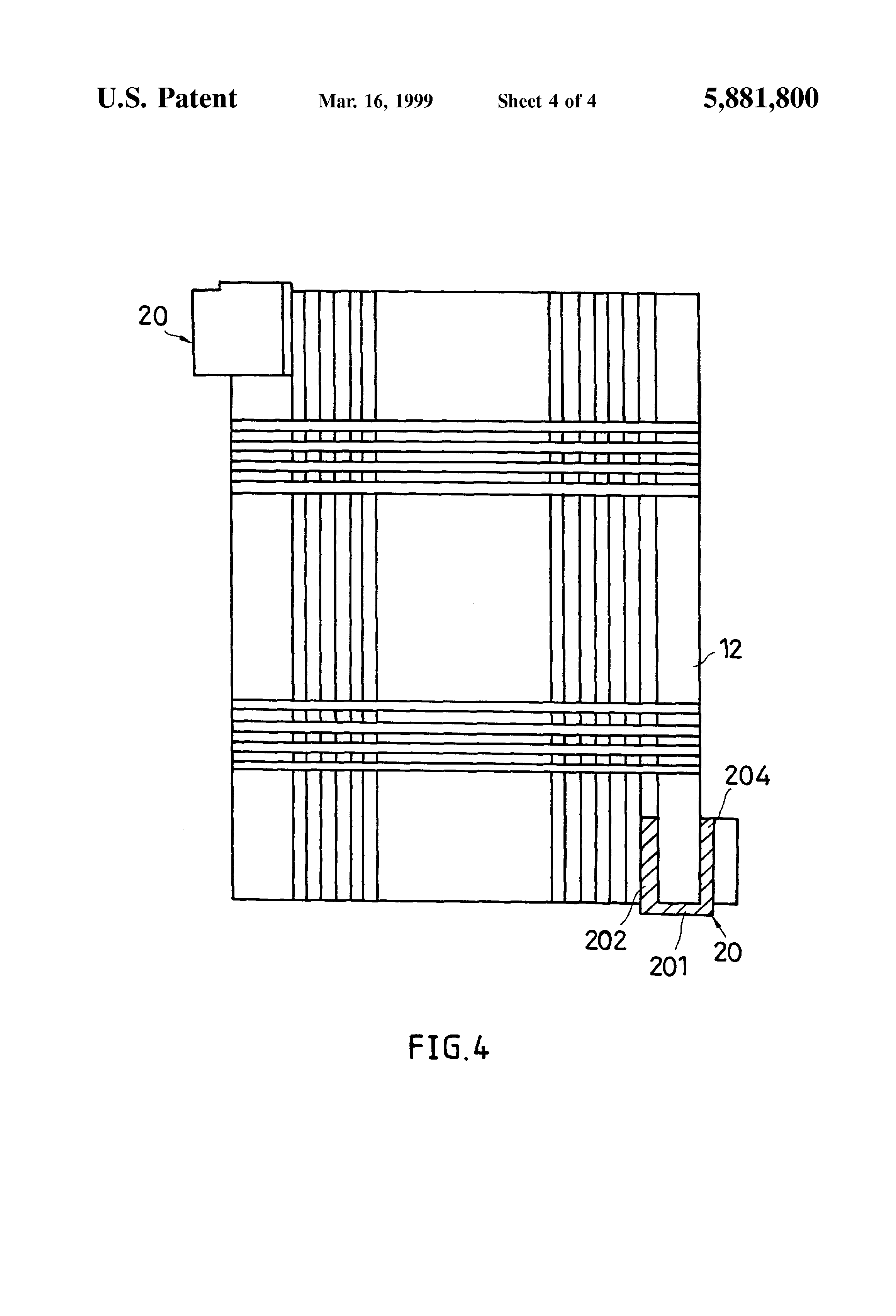 patent us5881800 - heat sink fastener