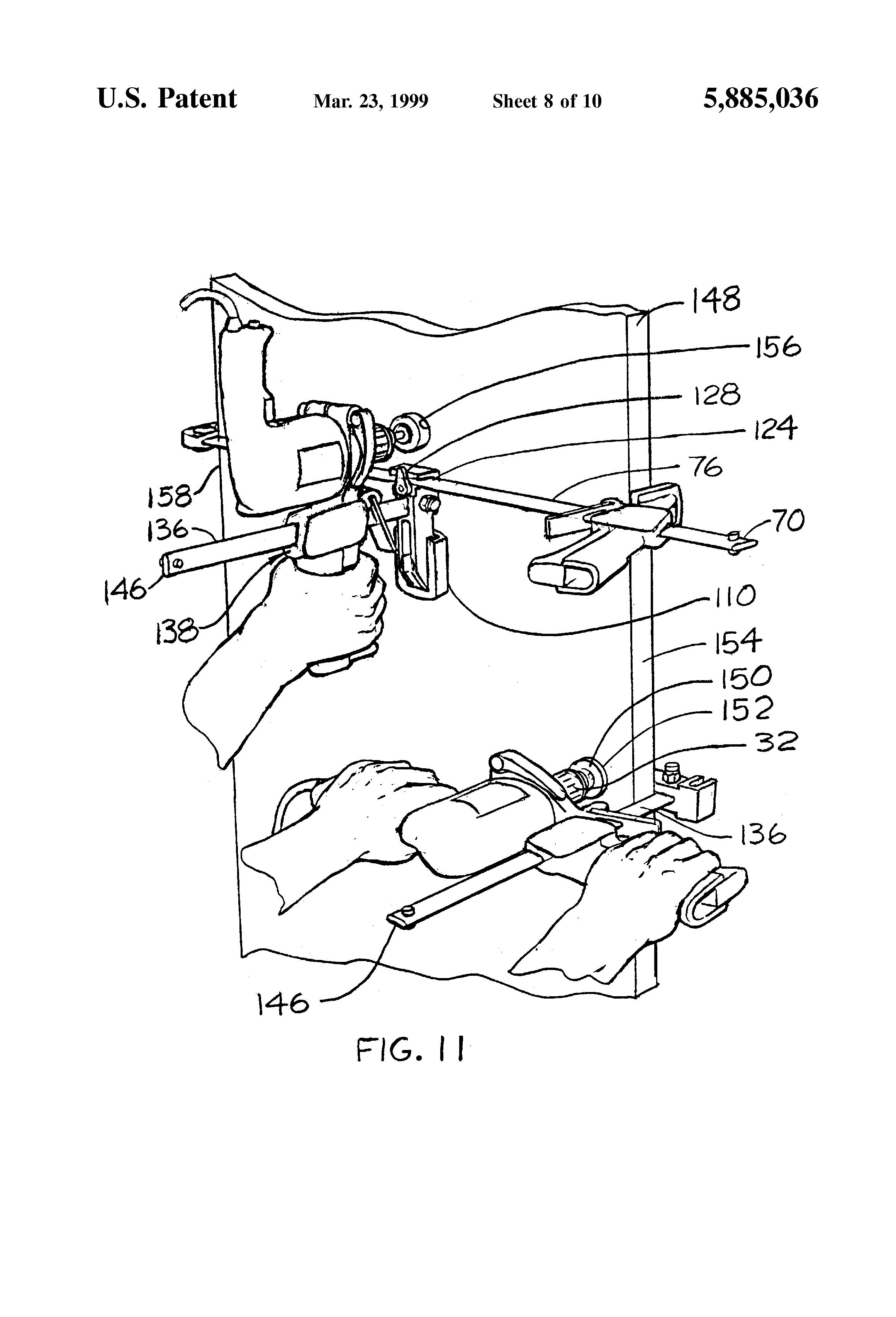 patent us5885036