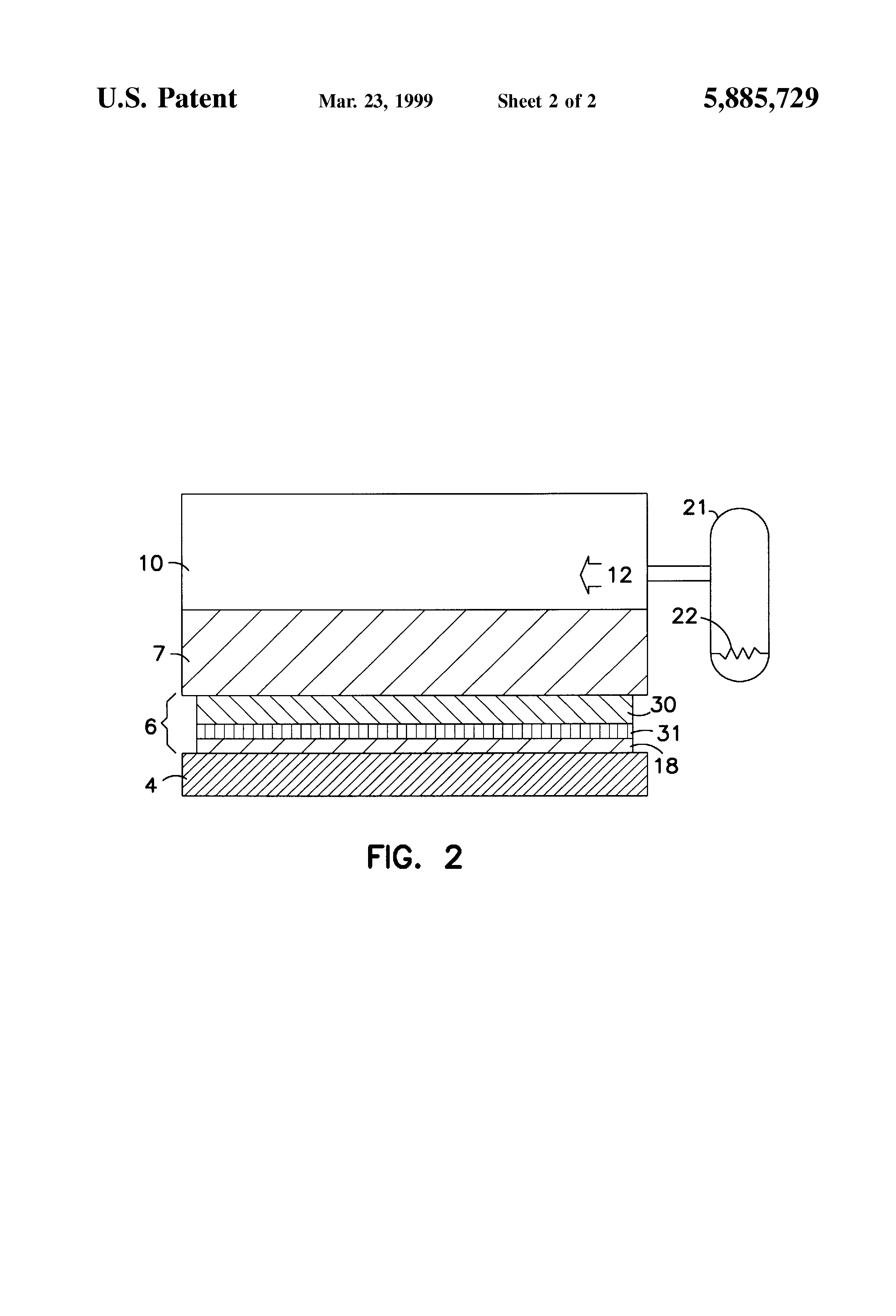 Patent Us5885729 Hydrophilic Graphite Fuel Cell Electrode For Use Fuelcell Flow Diagram Click On The Image To Enlarge Drawing