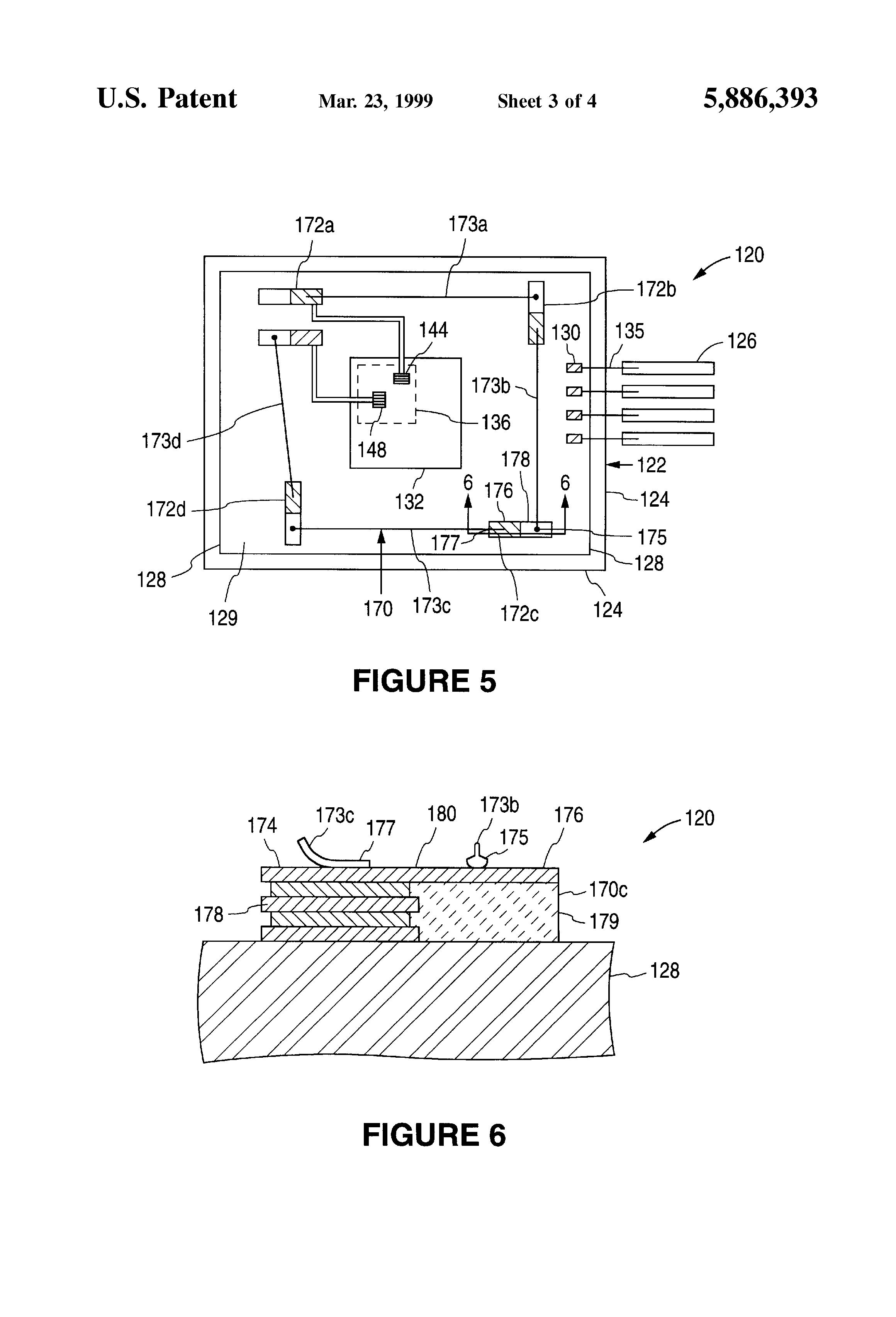 patent us5886393