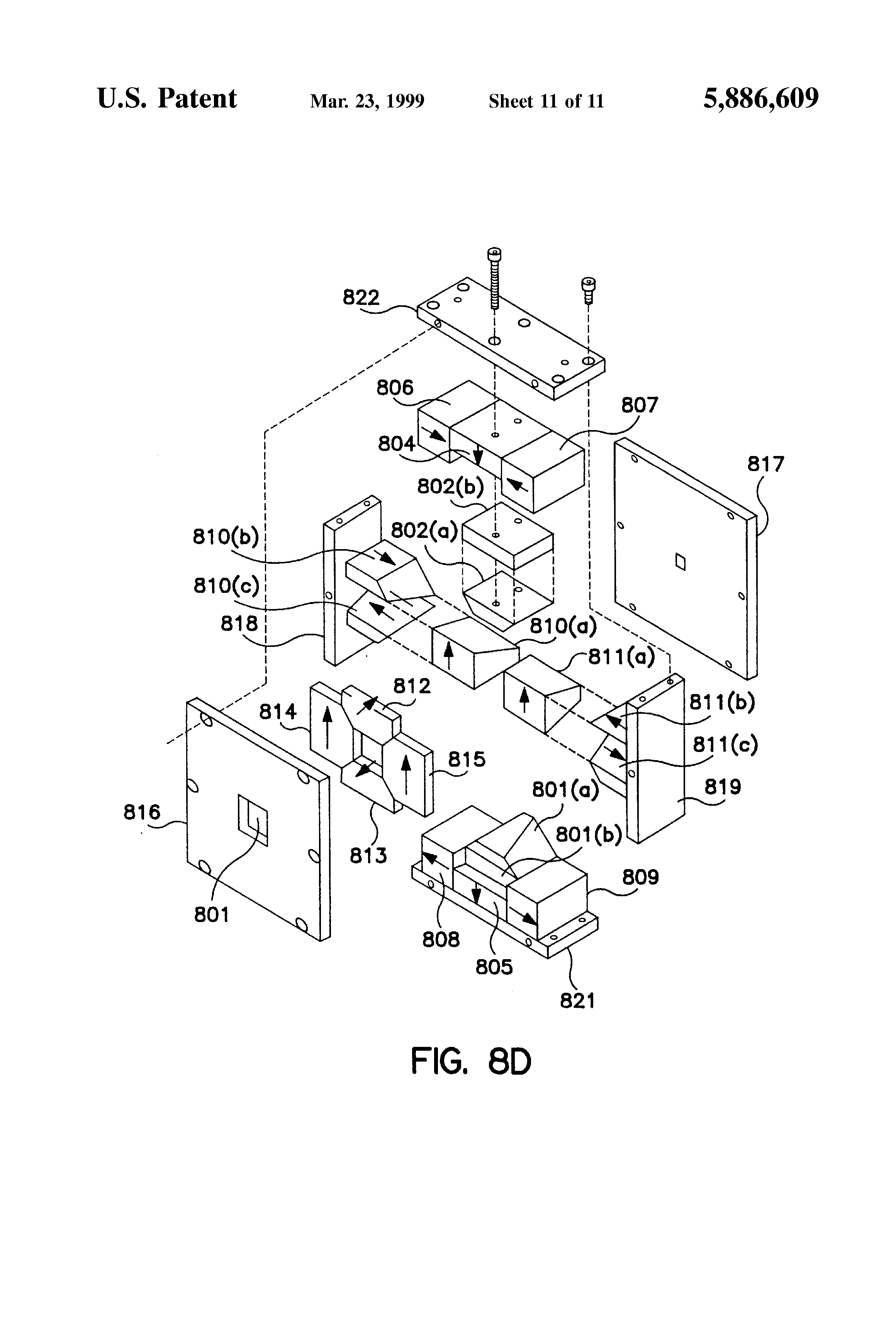 patent us5886609 single dipole permanent magnet structure with