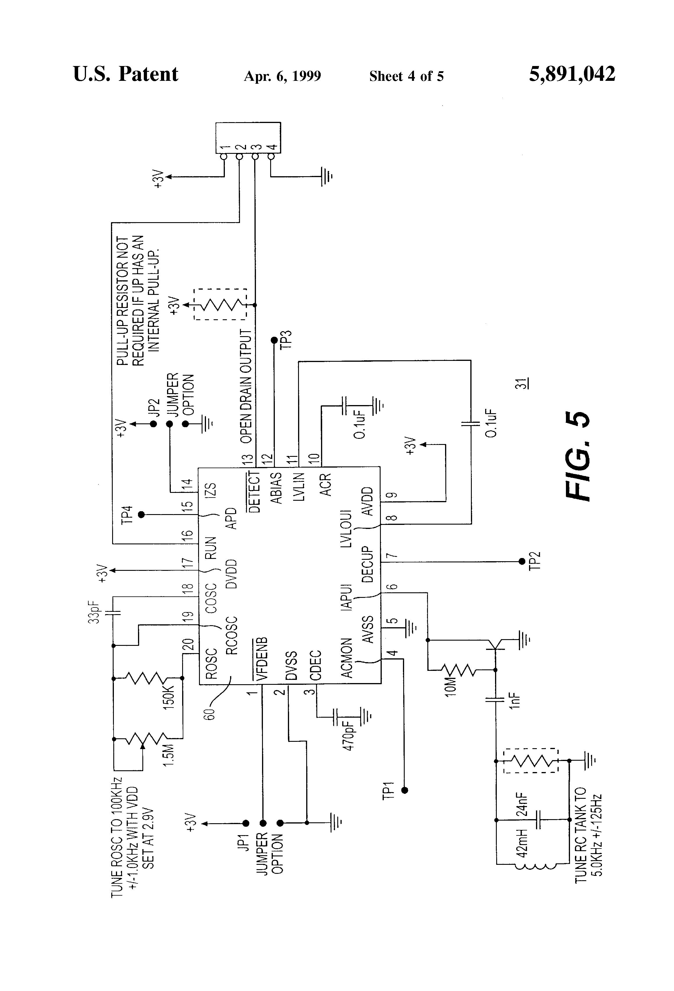 patent us5891042