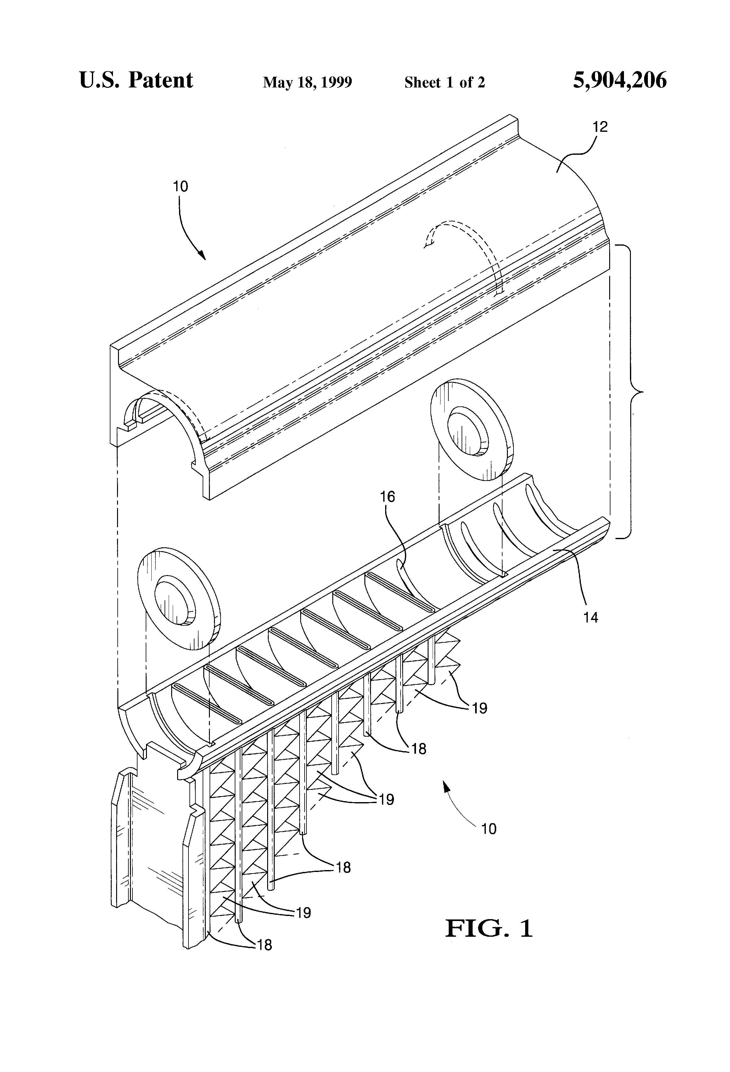 Patent US Heat exchanger flow tube with improved header