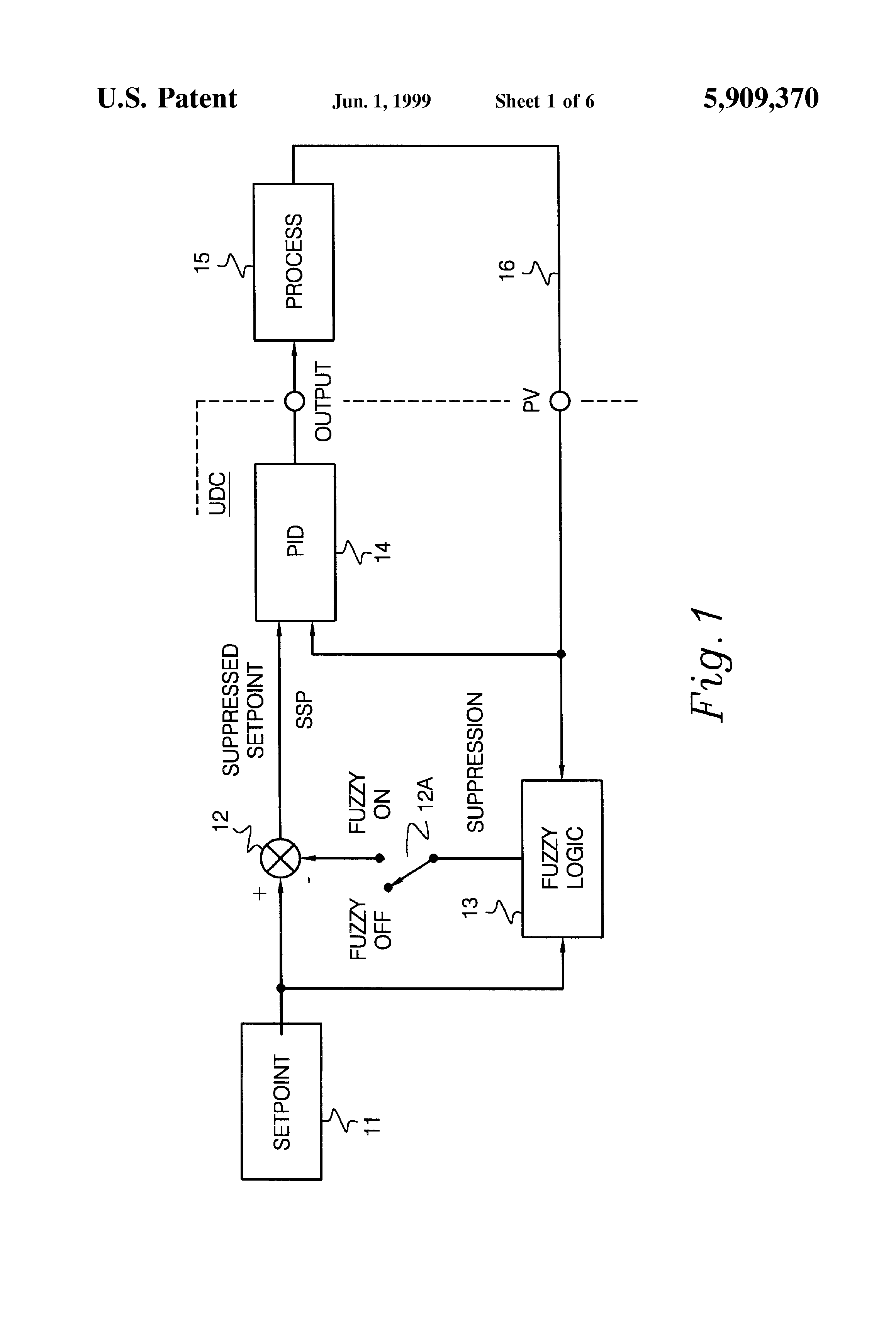 patent us5909370 - method of predicting overshoot in a control system response