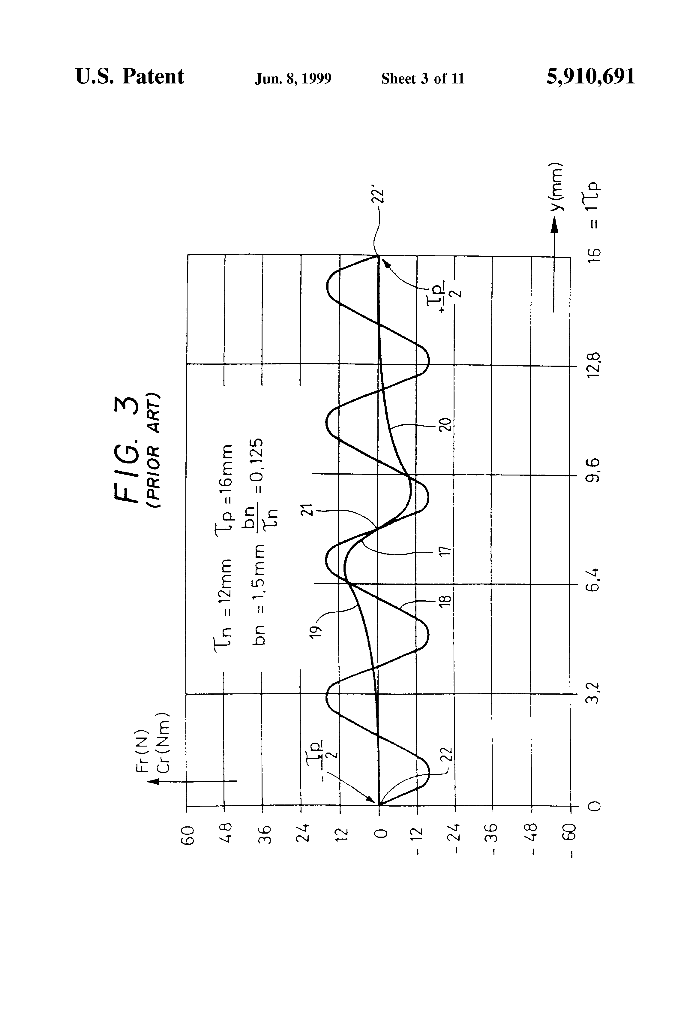 Patent Us5910691 Permanent Magnet Linear Synchronous