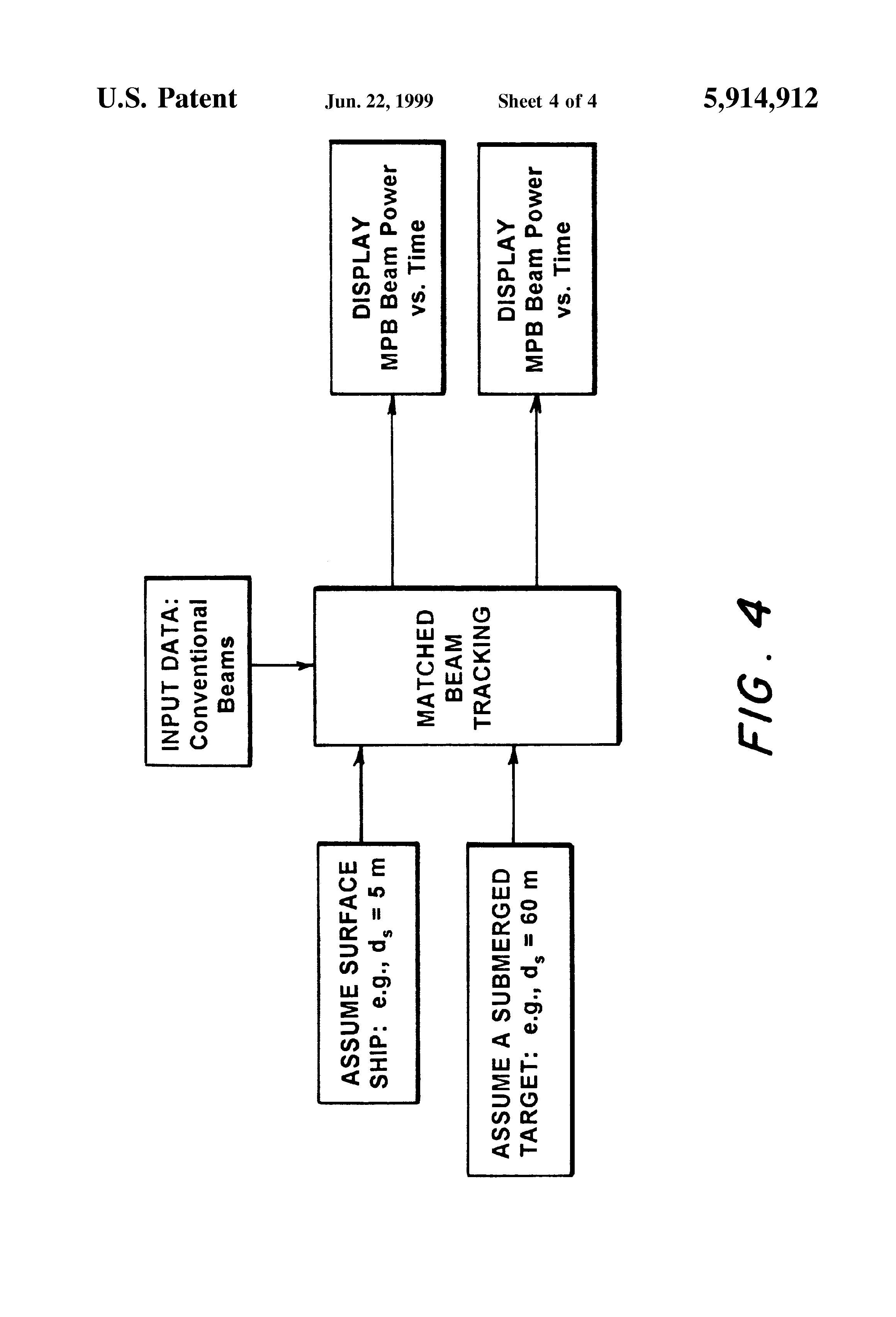 patent us5914912 - sonar array post processor