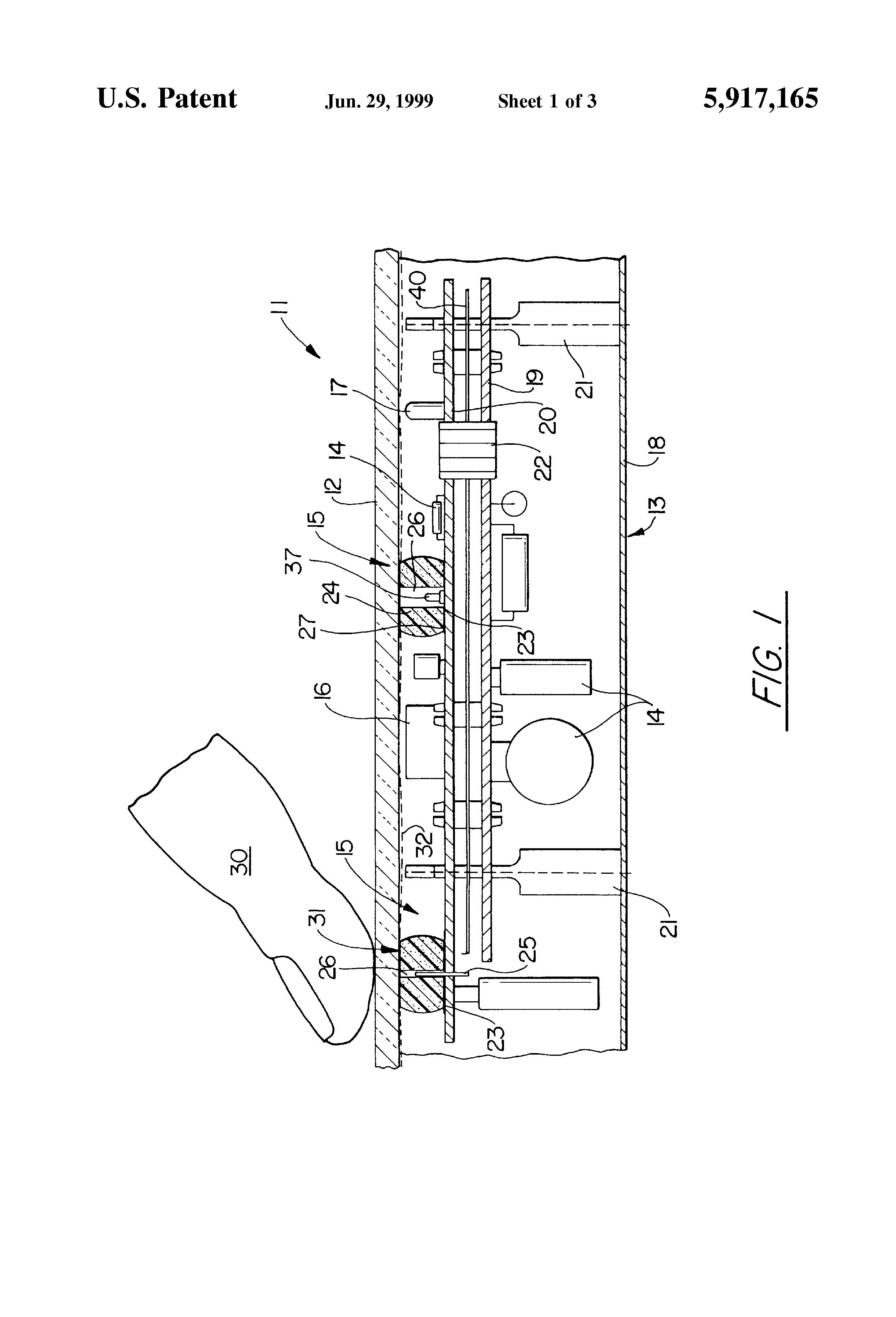 patent us5917165