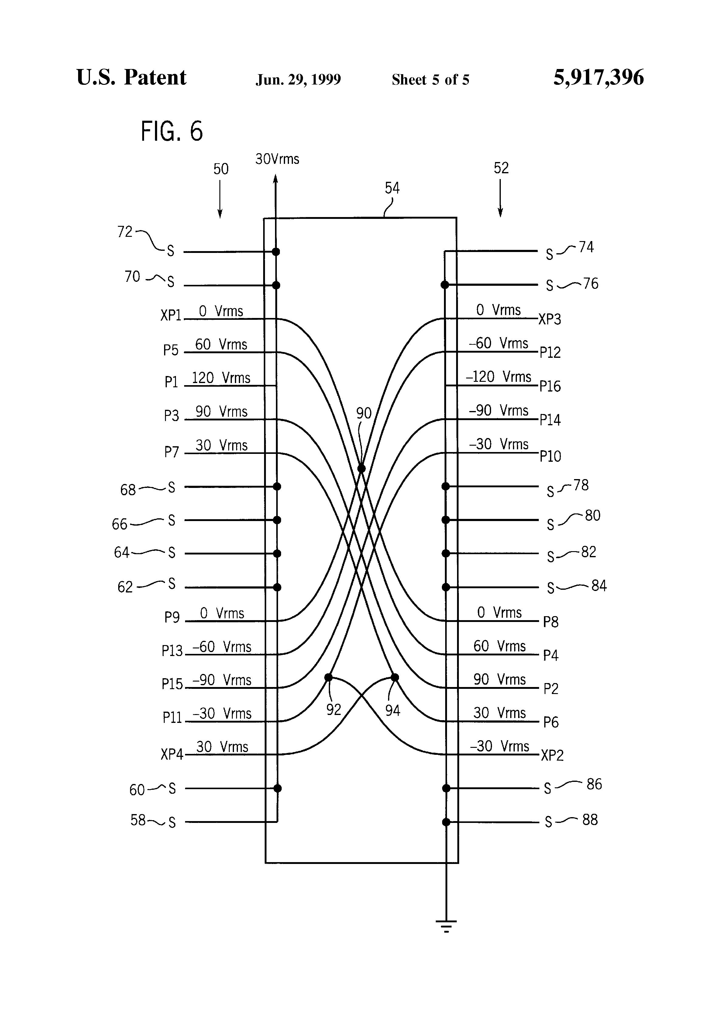 patent us5917396