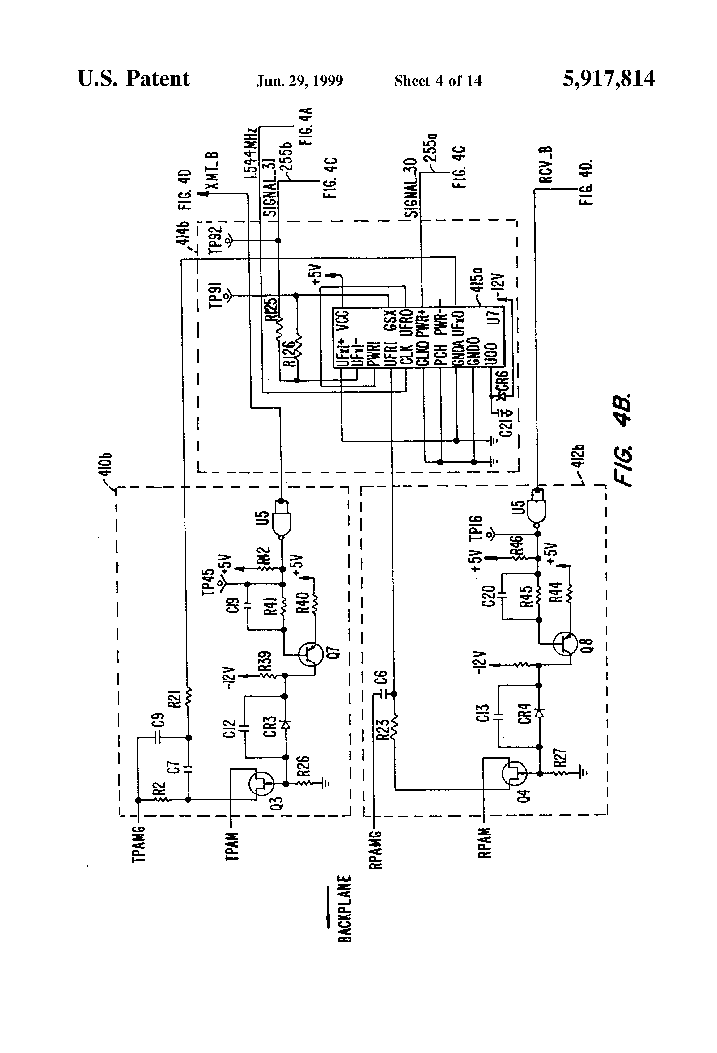 US5917814 4 patent us5917814 slc 96 plug in multiplexer google patents carrier clo board wiring diagram at gsmx.co