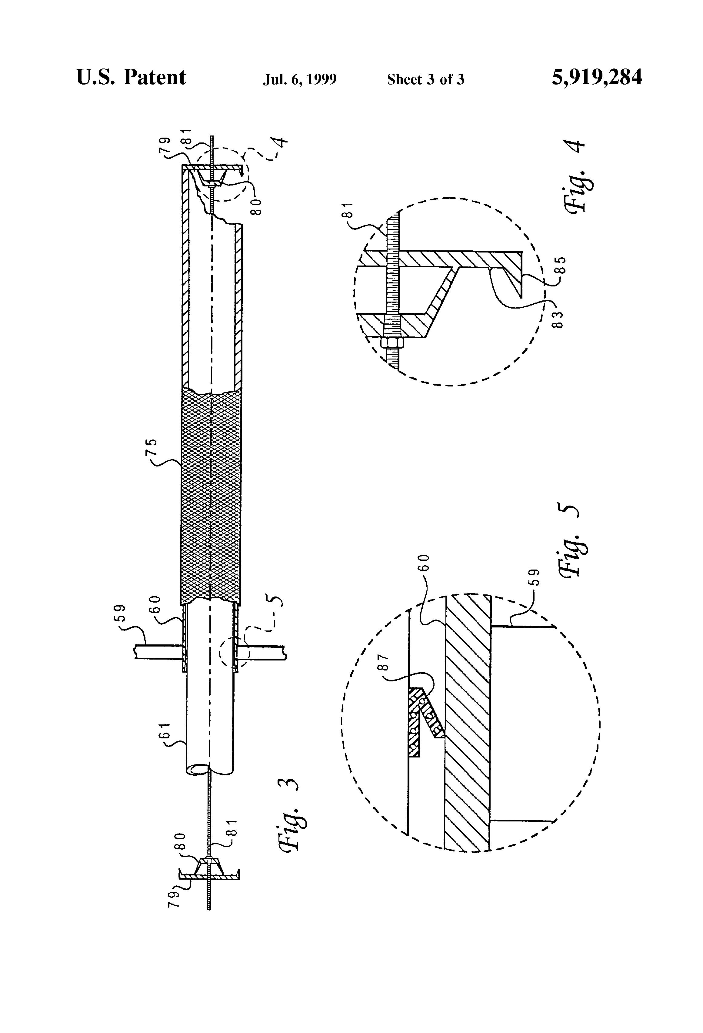 patent us5919284