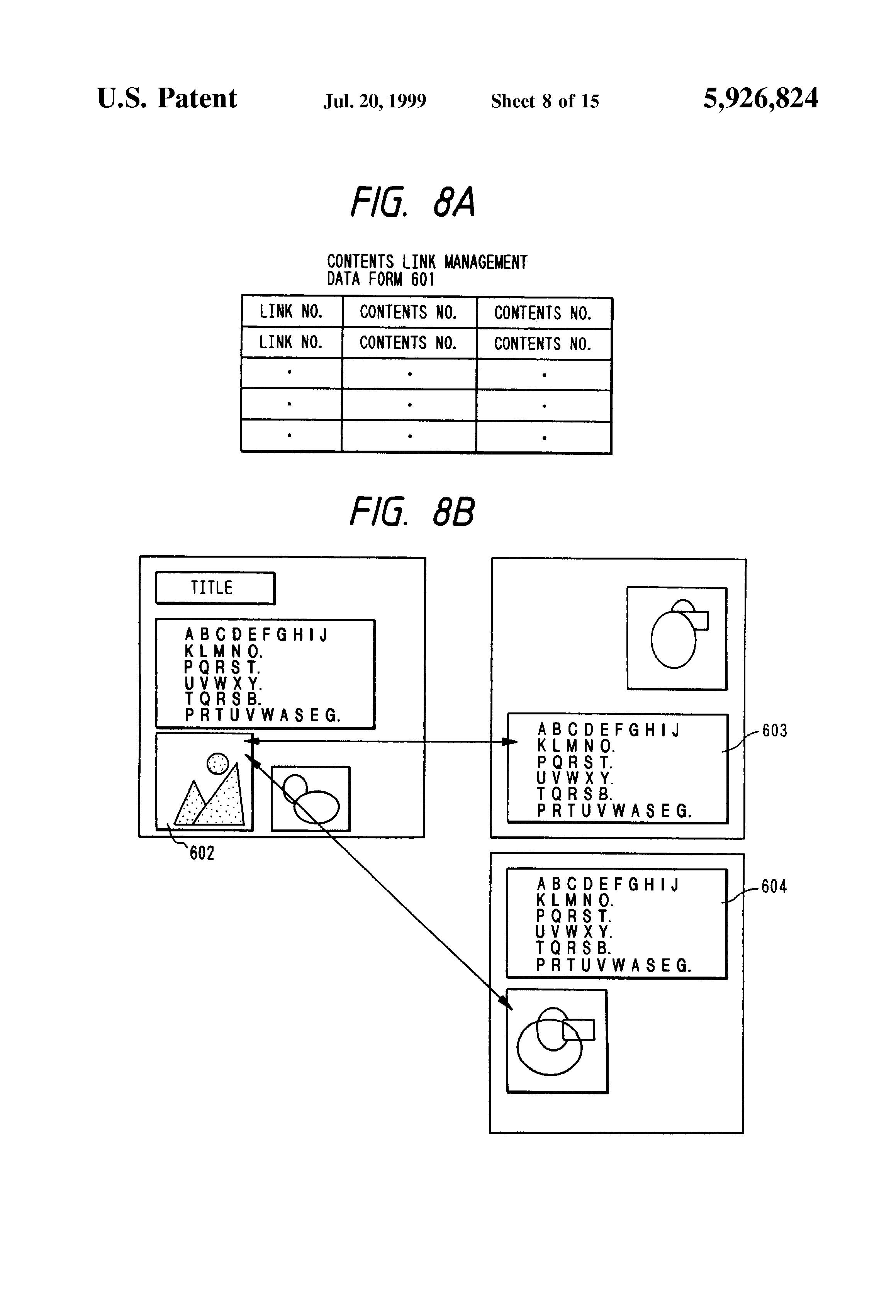 Patent US5926824 - System and method for retrieving a document by ...