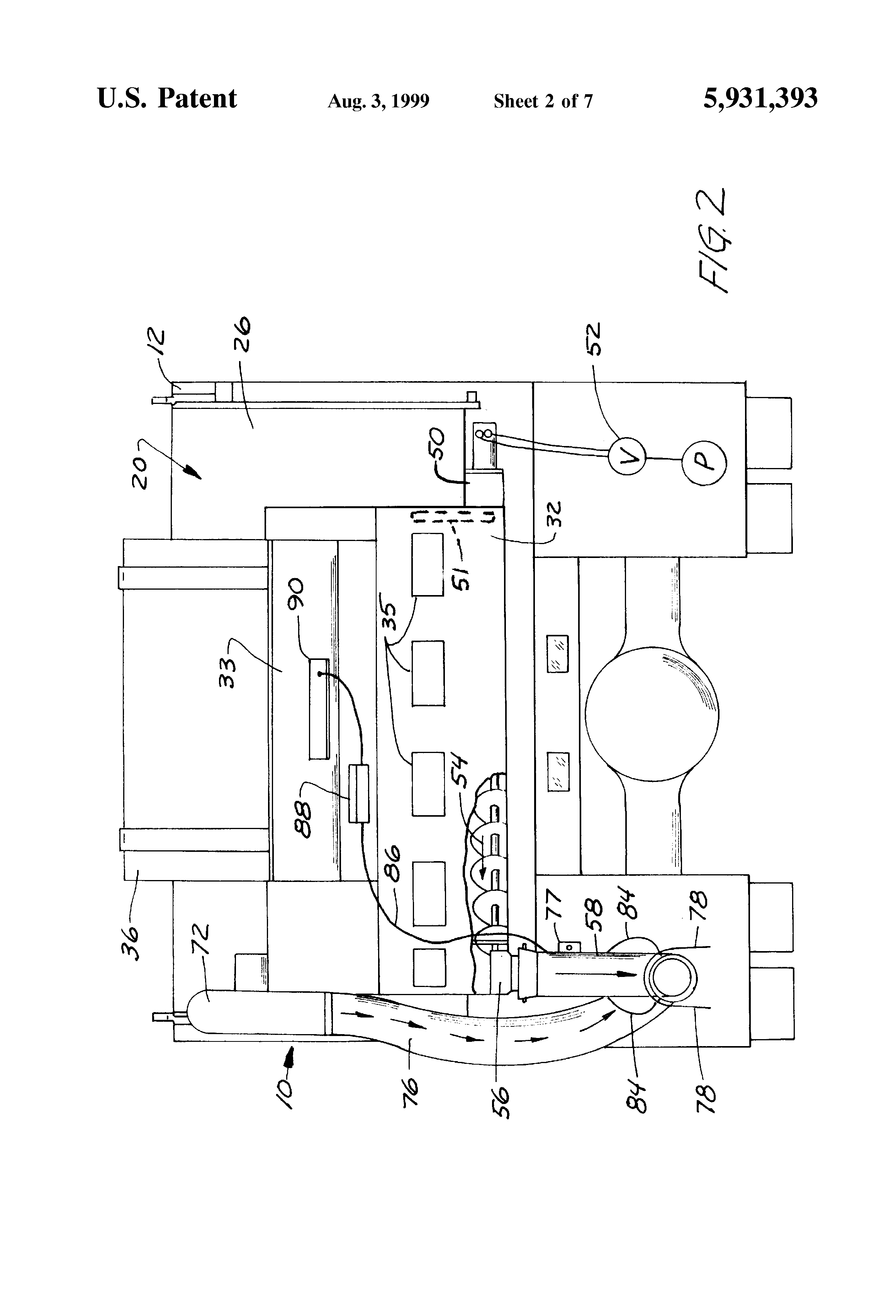 US5931393 2 patent us5931393 salt sand spreader with liquid injector Snow Plow E60 Wiring-Diagram at bayanpartner.co