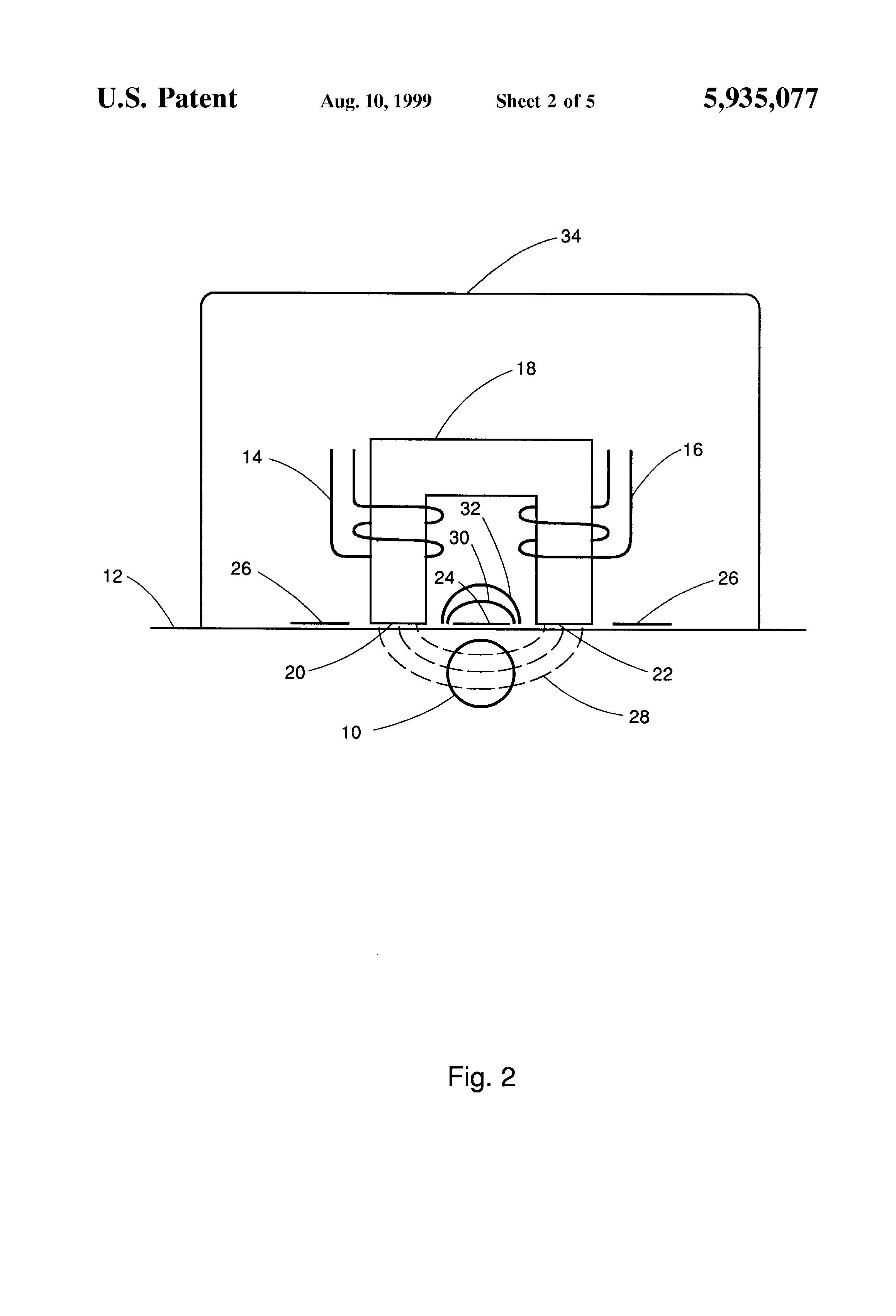 patent us5935077