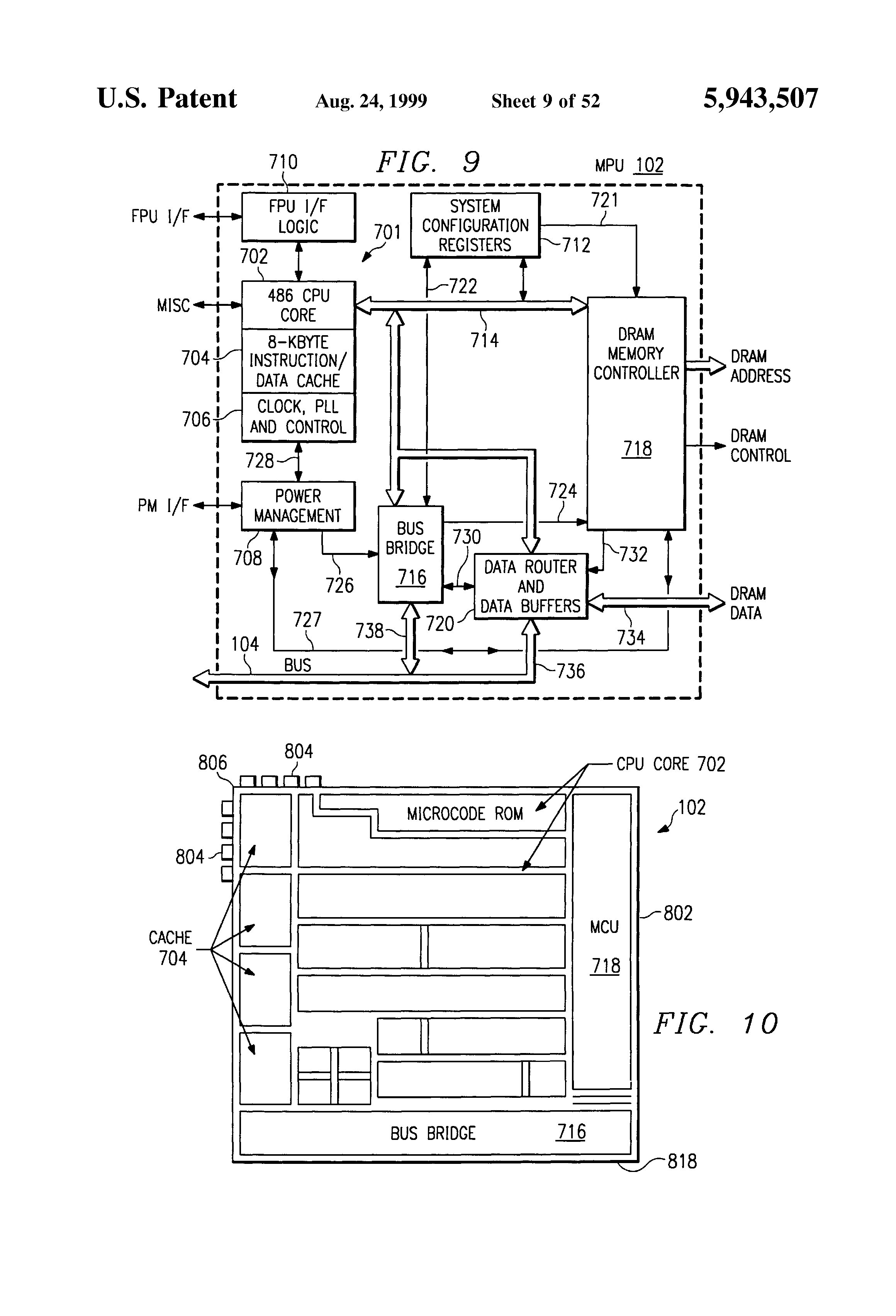 Patent Us5943507 Interrupt Routing Circuits Systems And Methods Quartz Clock Circuit Board Just Lift The Pcb From Visit Page Drawing
