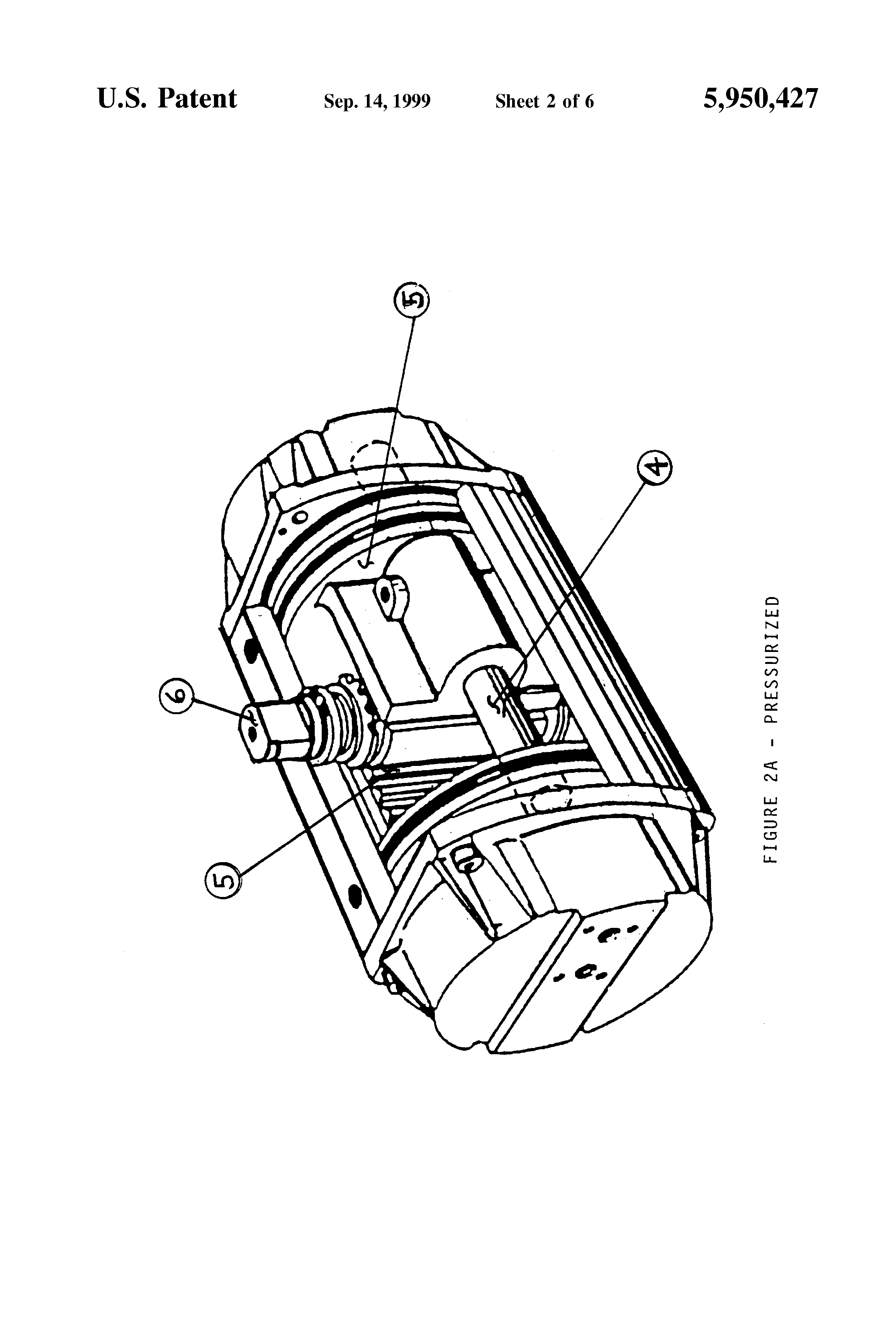 patent us5950427 - fail-safe electric hydraulic actuator