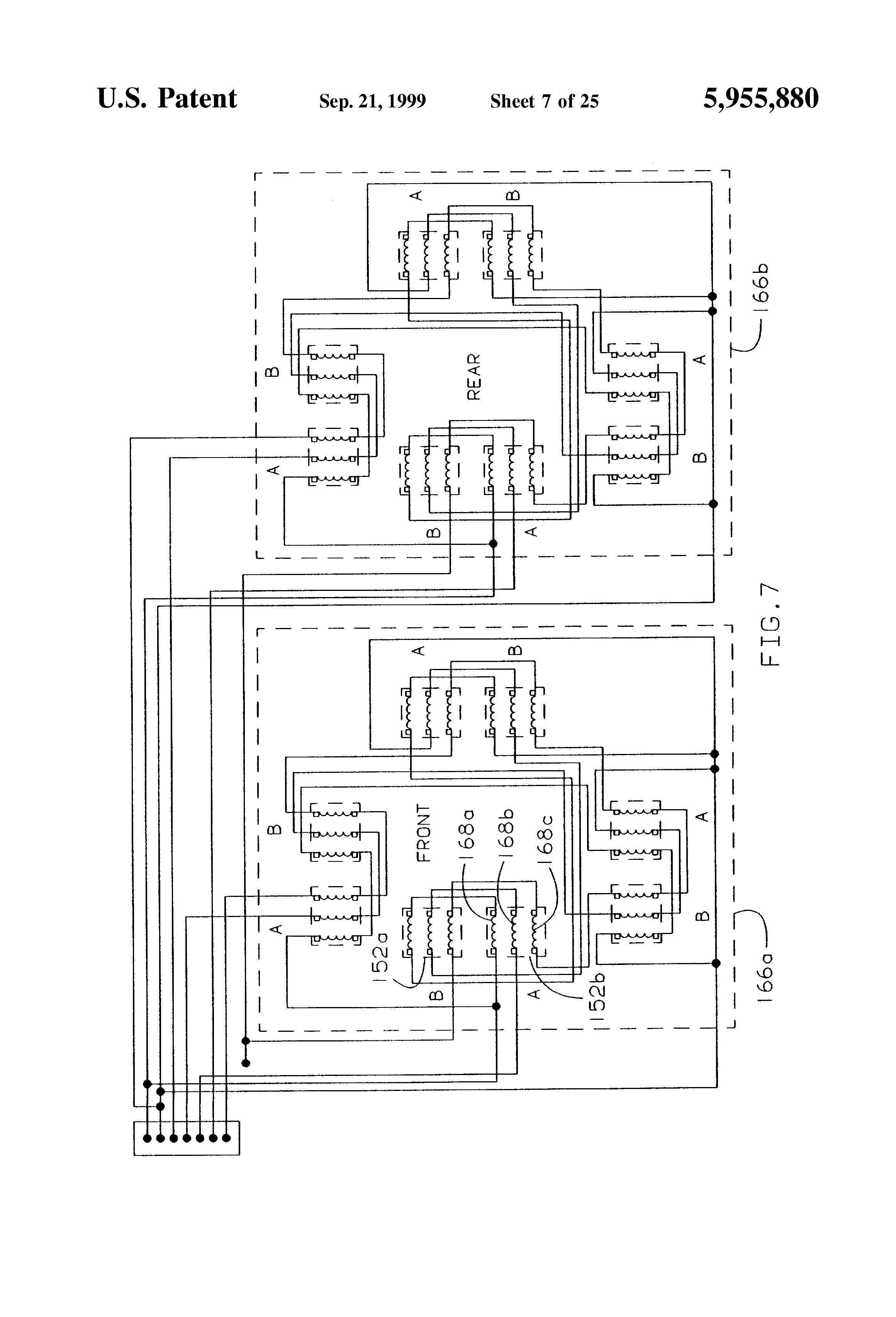 US5955880 8 patent us5955880 sealless pump rotor position and bearing teikoku pump wiring diagram at edmiracle.co