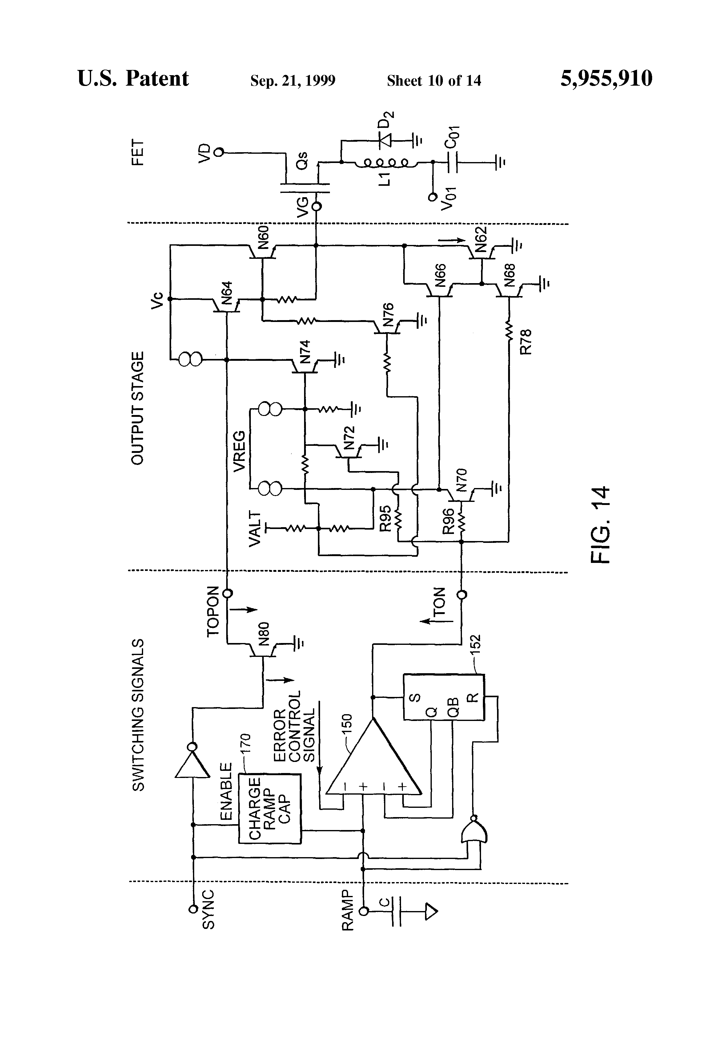Patent Us5955910 Switch With Programmable Delay Google Patents Pujt Voltage Comparator Power On Circuits Drawing
