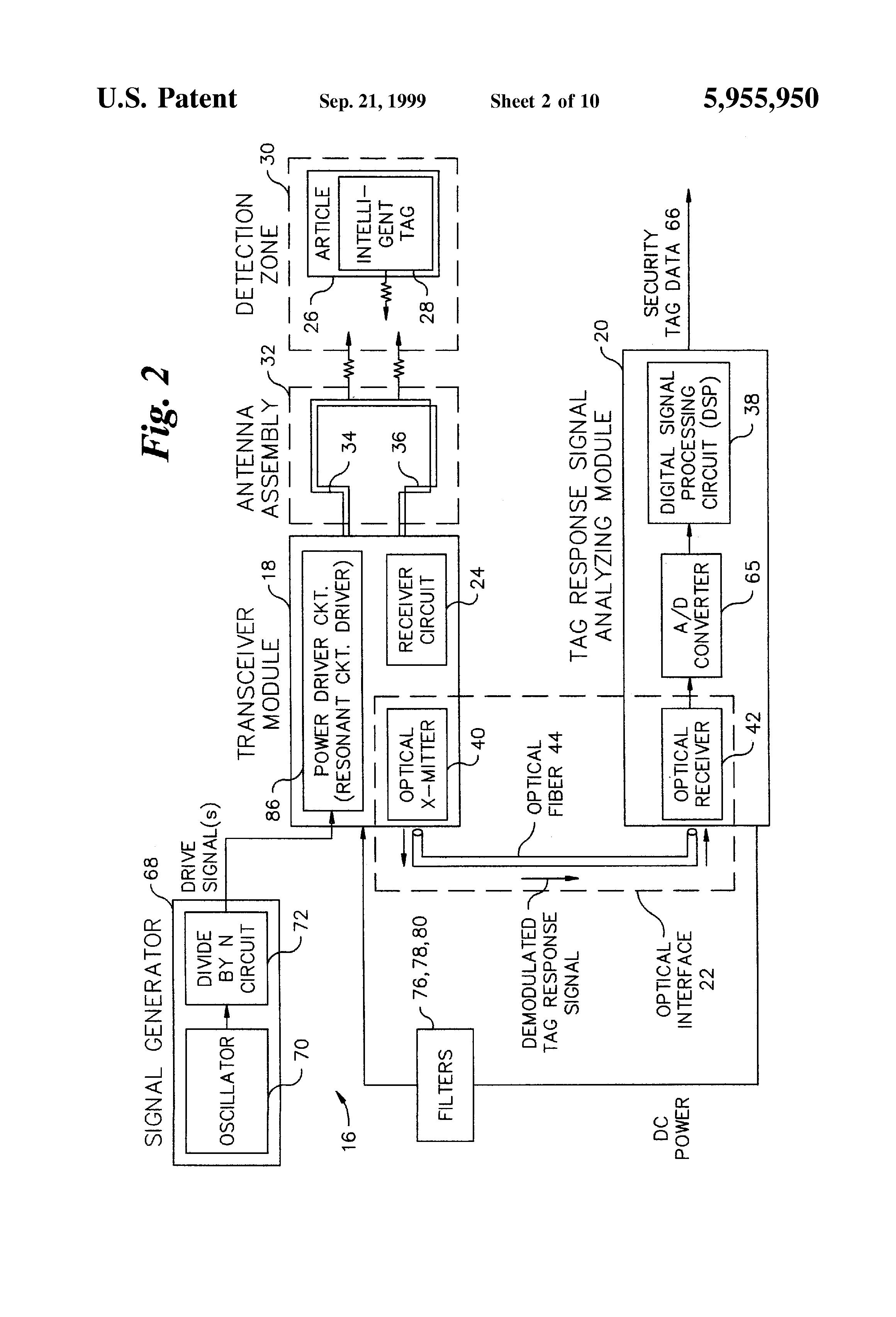 patent us5955950
