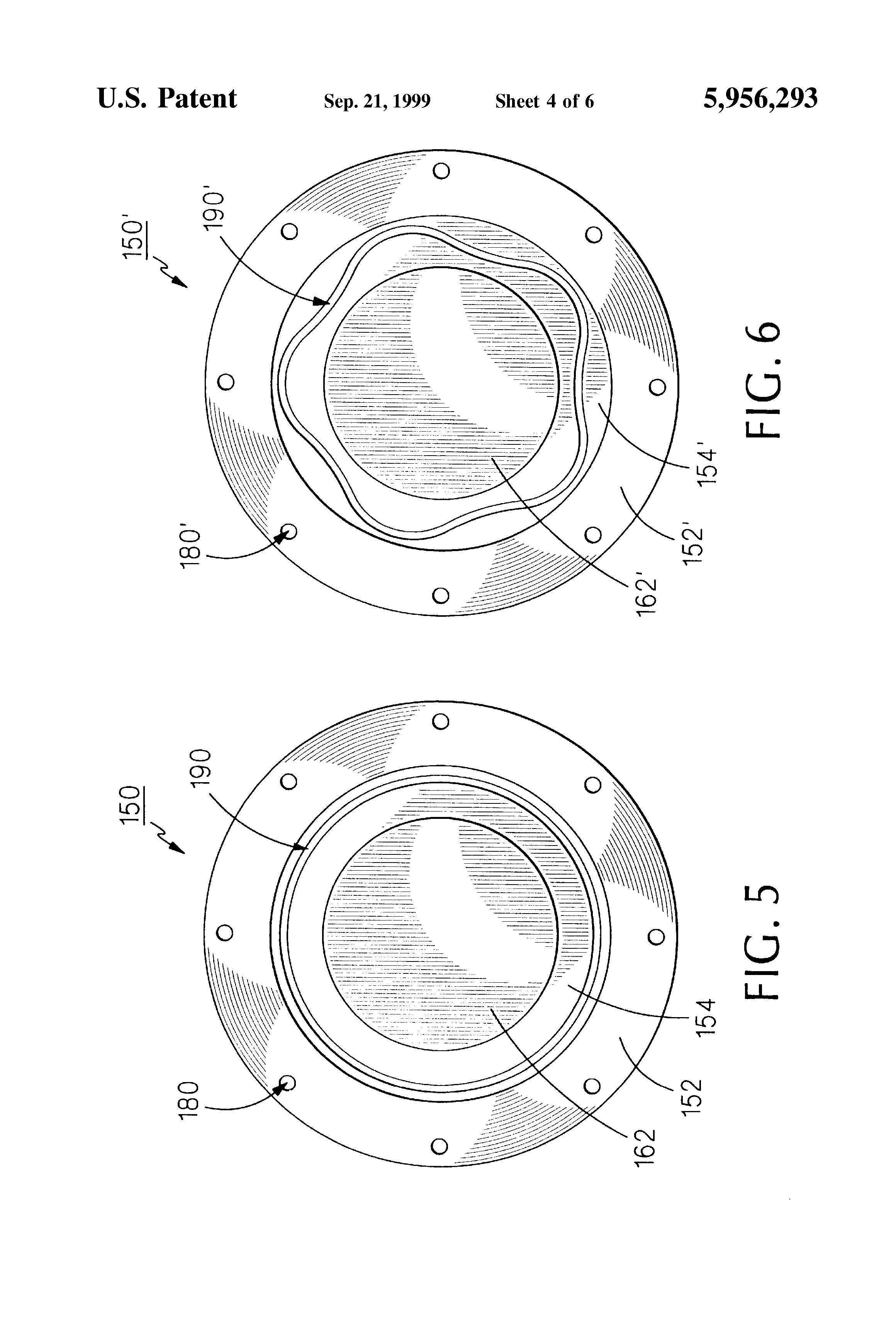 Piezoelectric Transducer Piston Wiring Diagram For Professional Circuit Patent Us5956293 Flexural Plate Sound Having Ultrasound