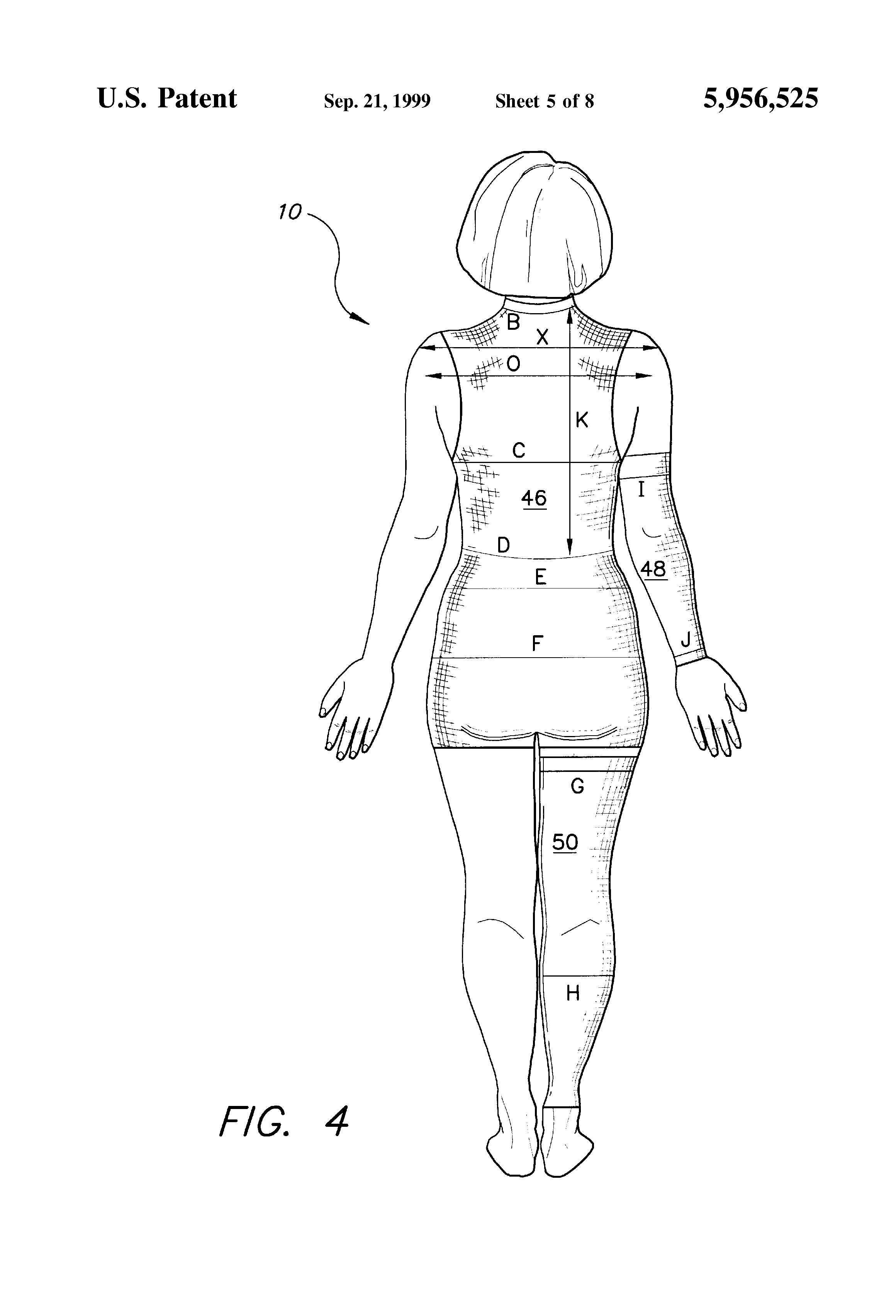 body measurements sheet