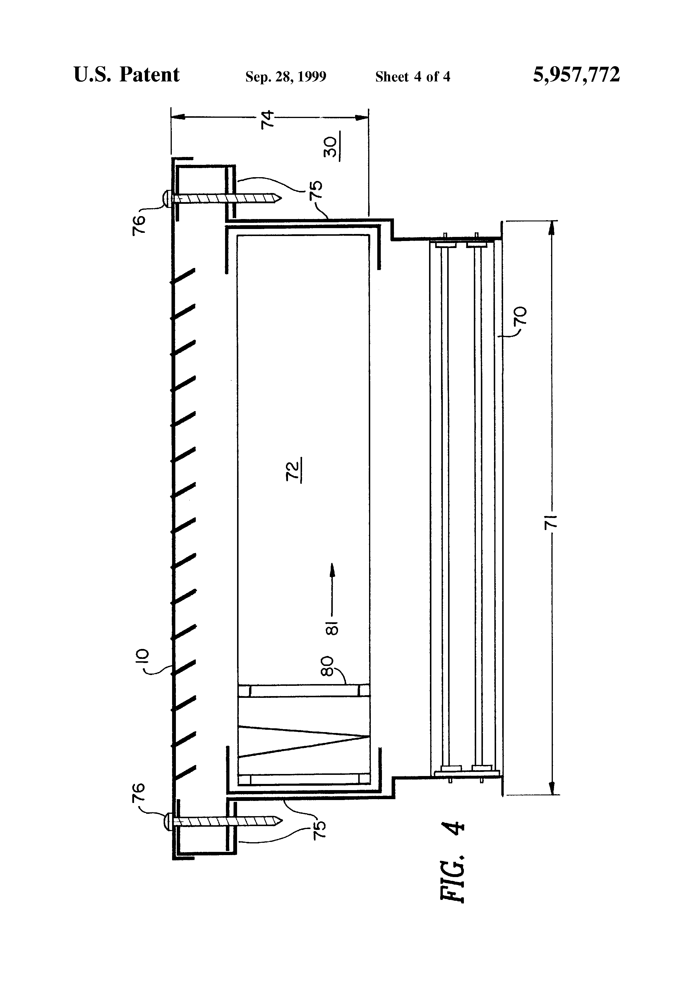 Wall Grille With Opposed Blade Damper : Patent us fire rated wall damper assembly