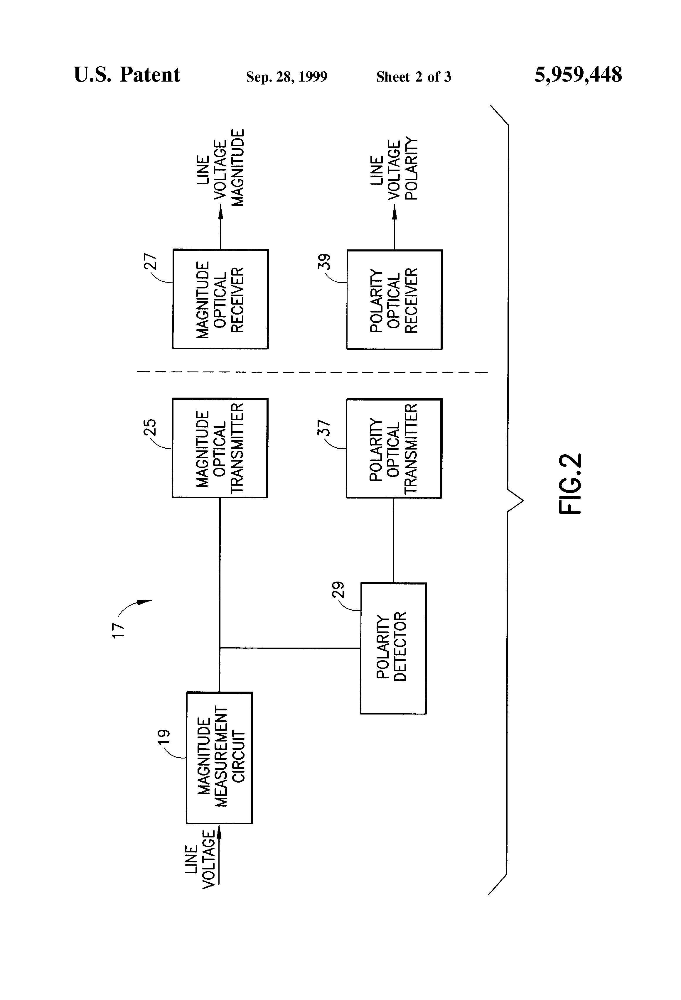 Line Voltage Sensing Circuit Optical Sensors Detectors Circuits Nextgr Patent Us5959448 Optically Isolated Gt Alarm L37287