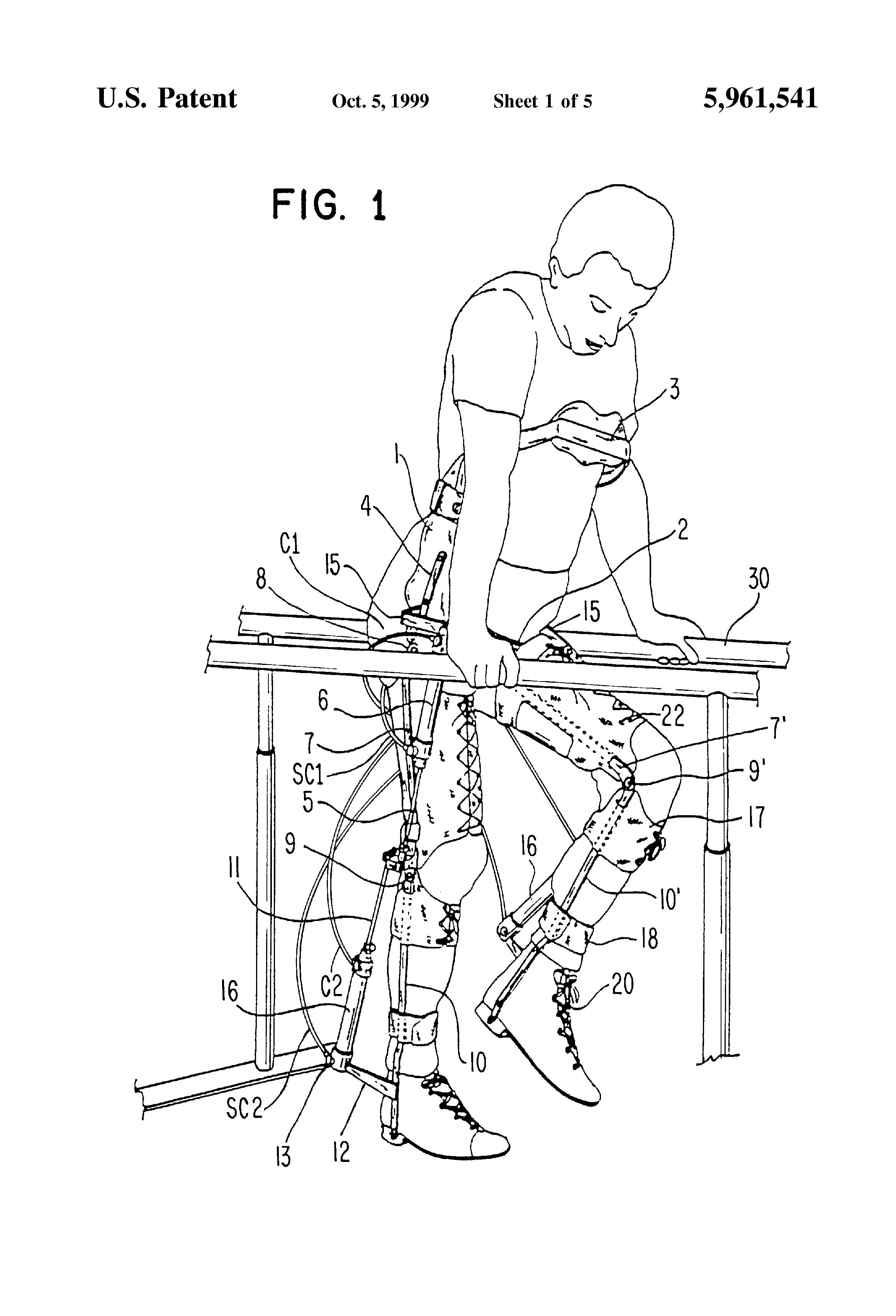 patent us5961541